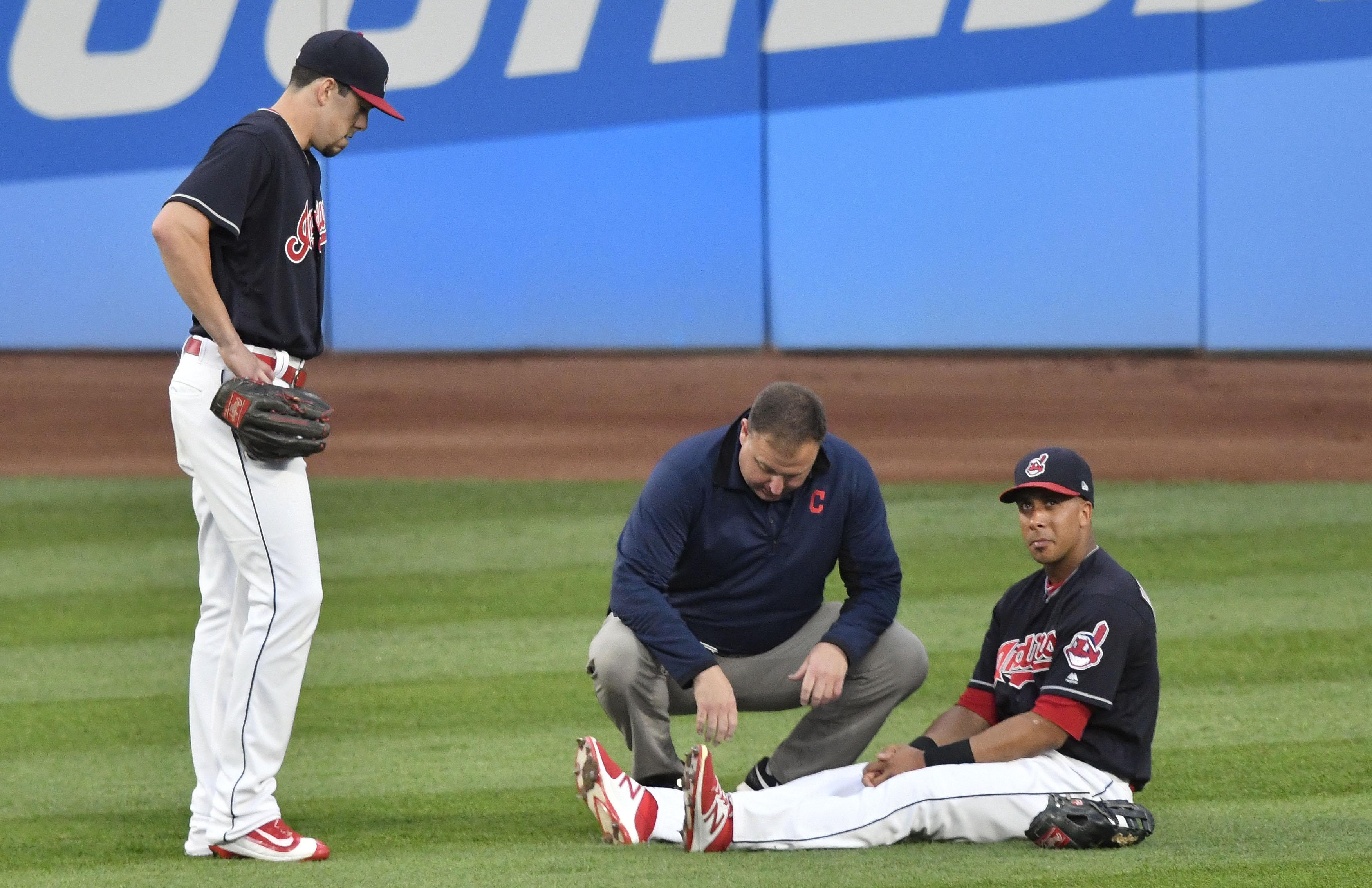 MLB: Colorado Rockies at Cleveland Indians