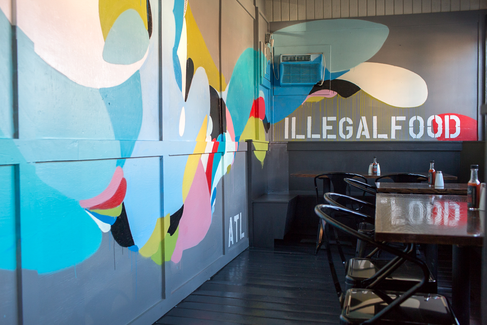 Inside Illegal Food.