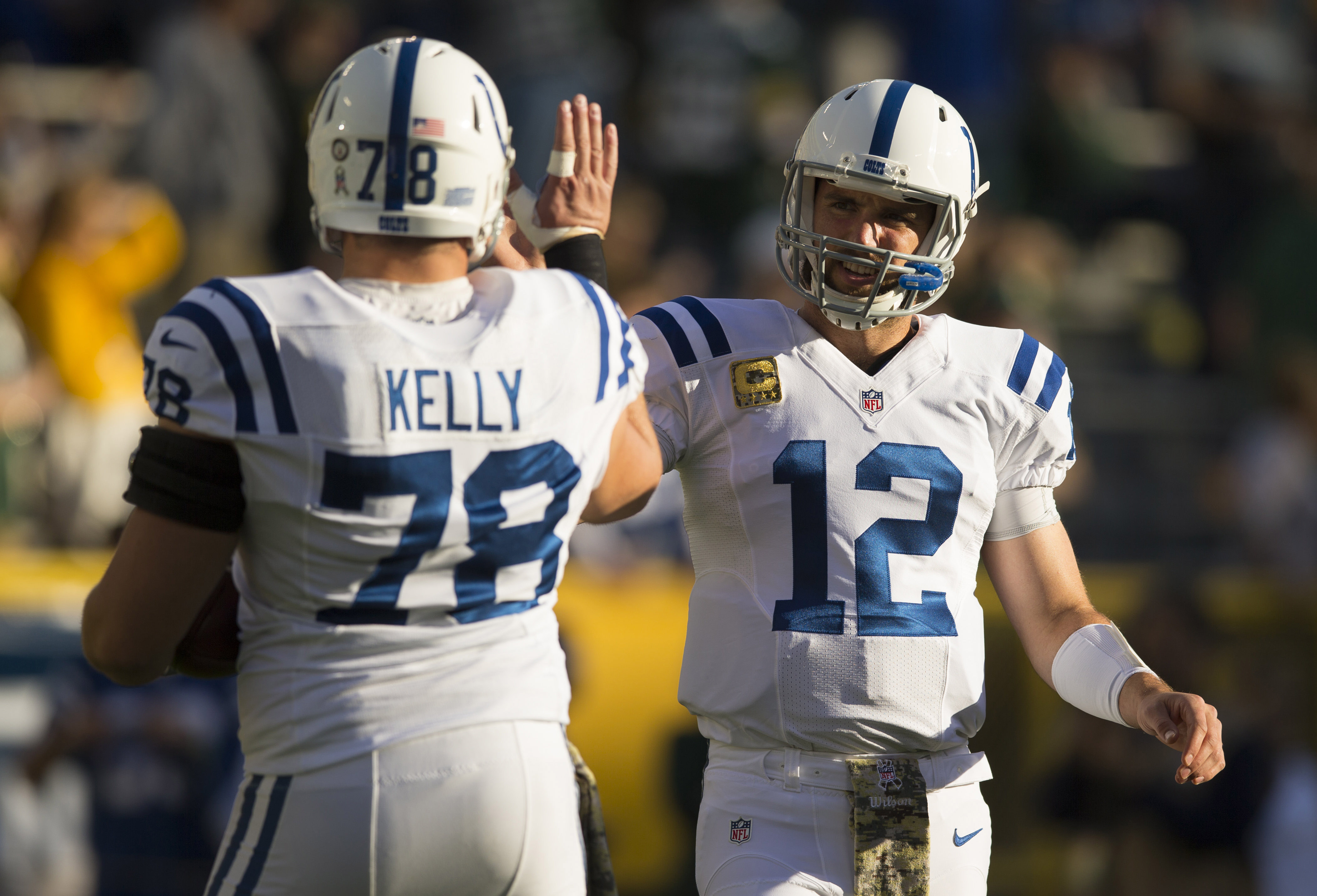 NFL: Indianapolis Colts at Green Bay Packers