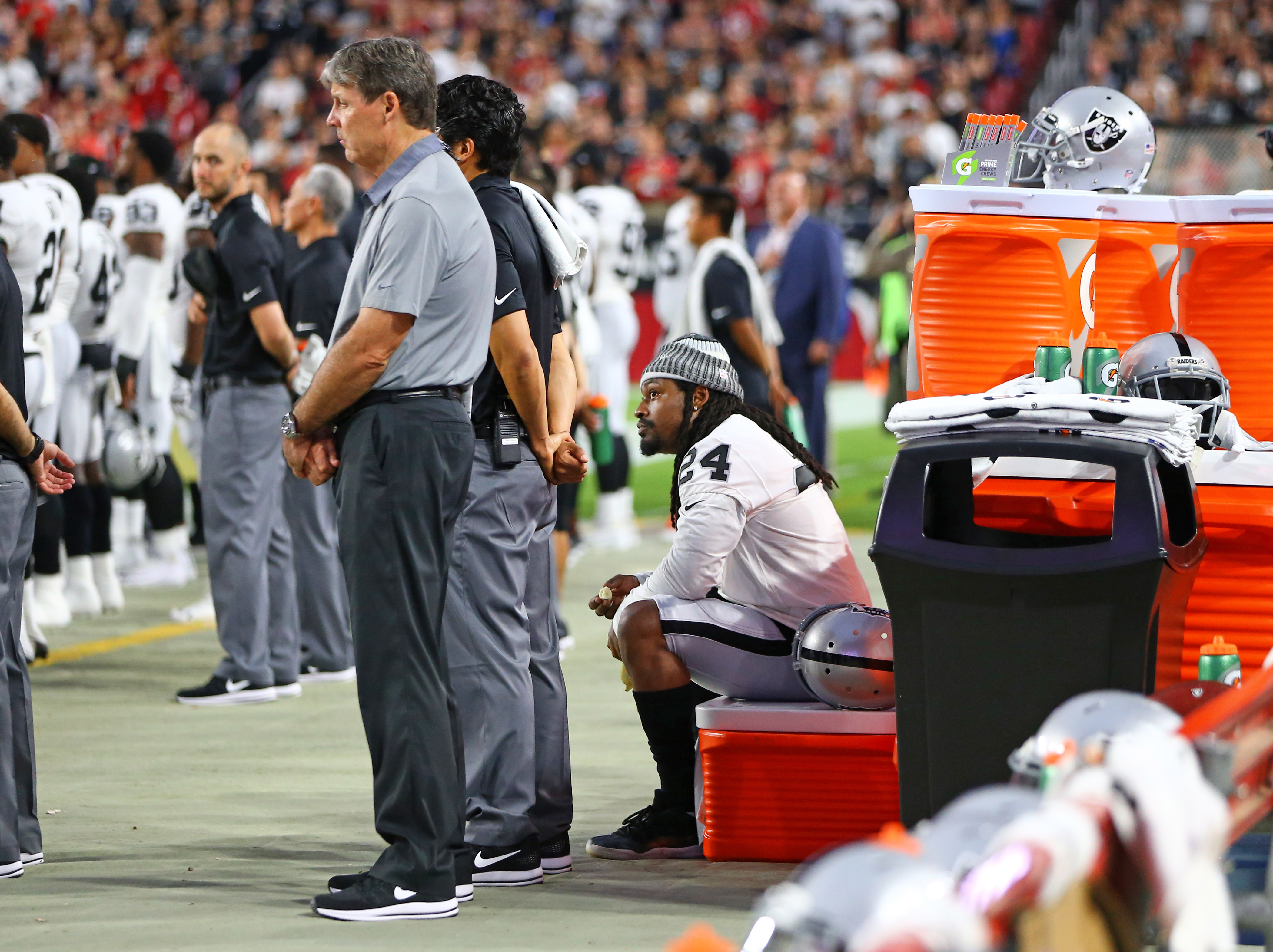 NFL: Oakland Raiders at Arizona Cardinals