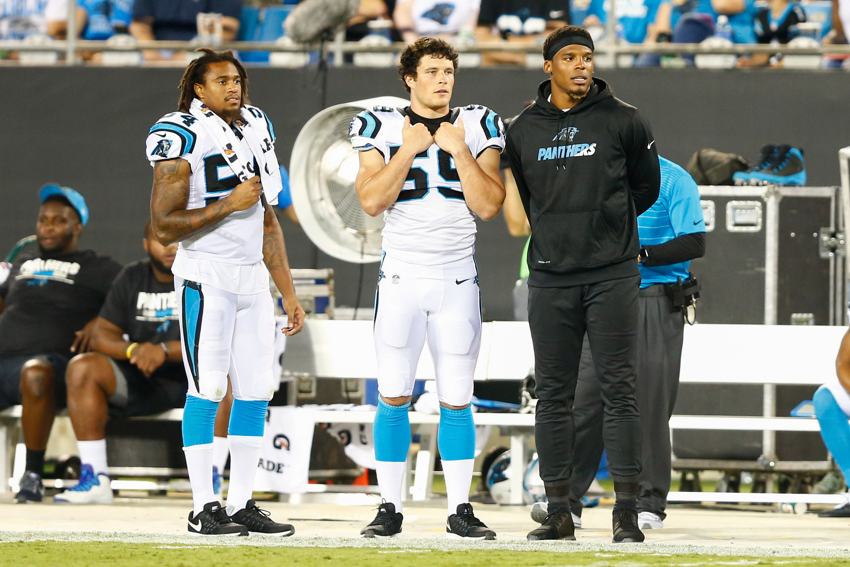 NFL: Houston Texans at Carolina Panthers