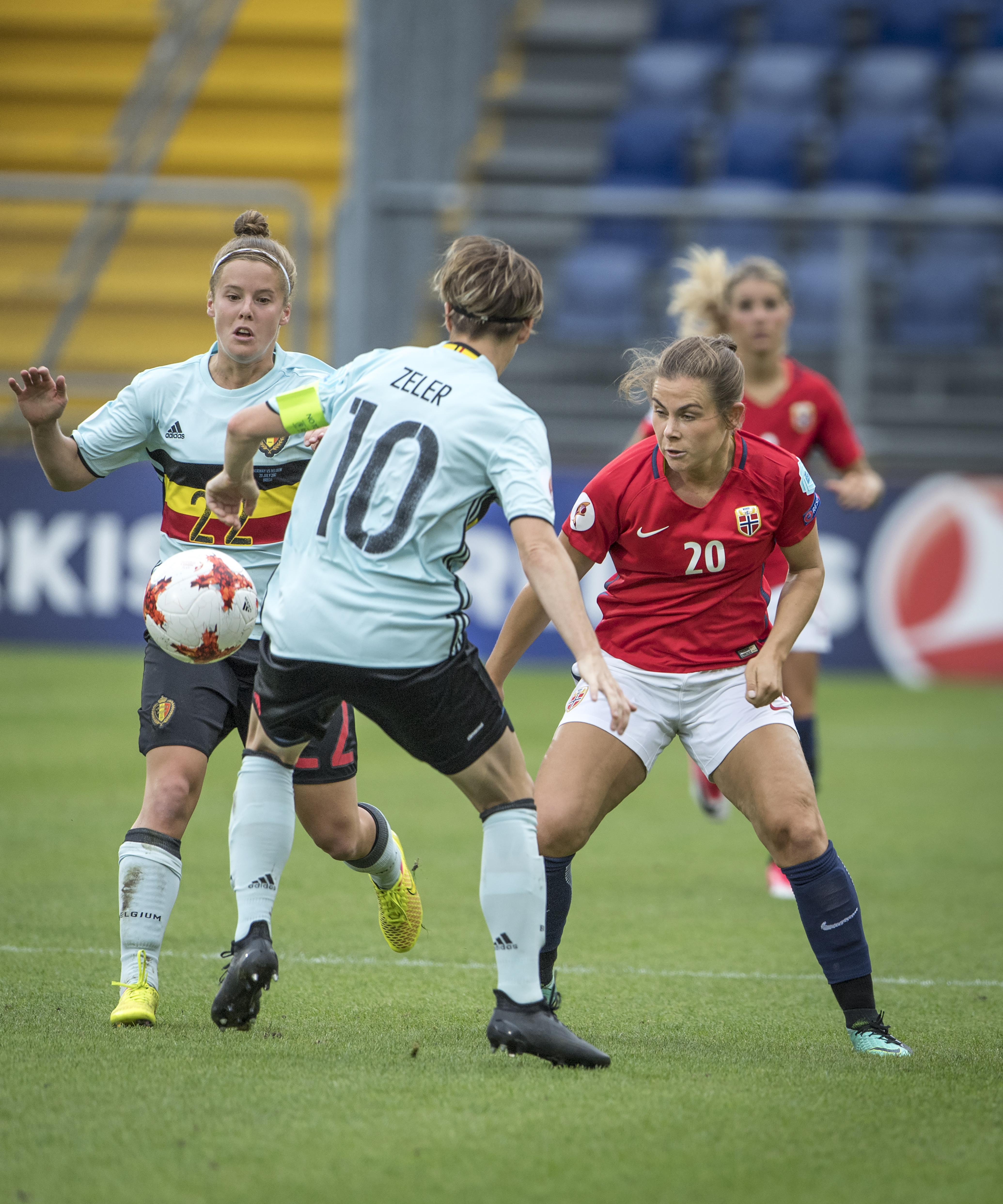 Norway v Belgium - UEFA Women's Euro 2017: Group A