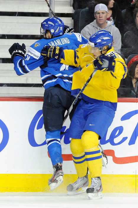 Last year this time, it was Sweden in the WJC. This year it's a three-point night for Bridgeport.