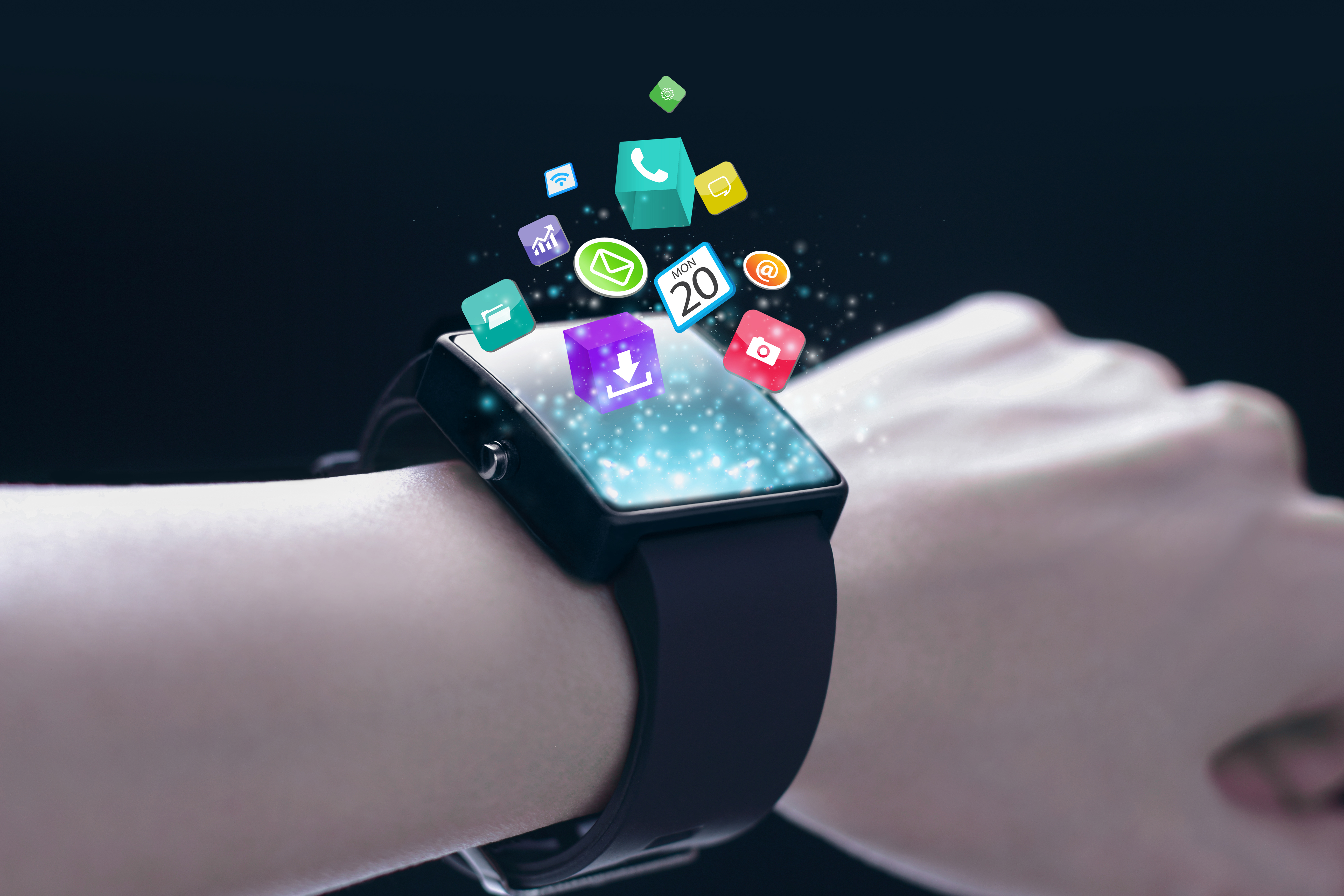smartwatch with apps