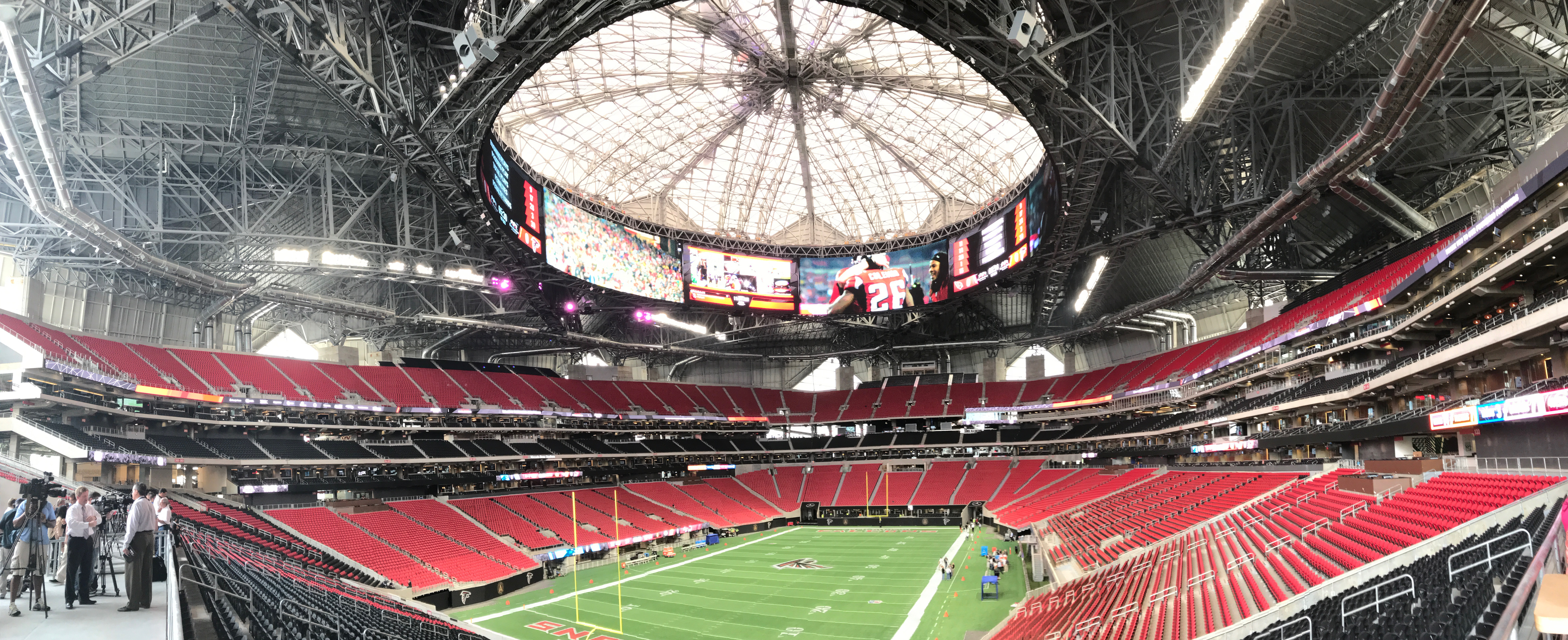 thoughts from the mercedes-benz stadium media tour - dirty south soccer
