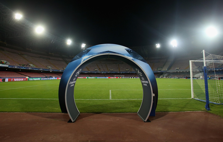 SSC Napoli v FC Dynamo Kyiv - UEFA Champions League