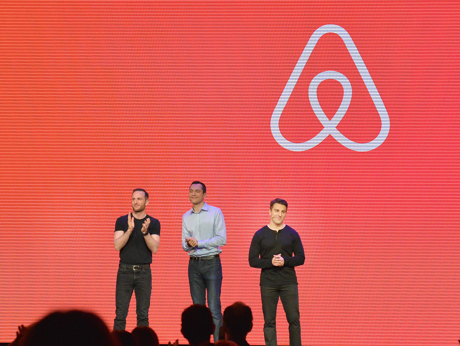 Joe Gebbia, Nathan Blecharczyk and Brian Chesky are the co-founders of Airbnb.