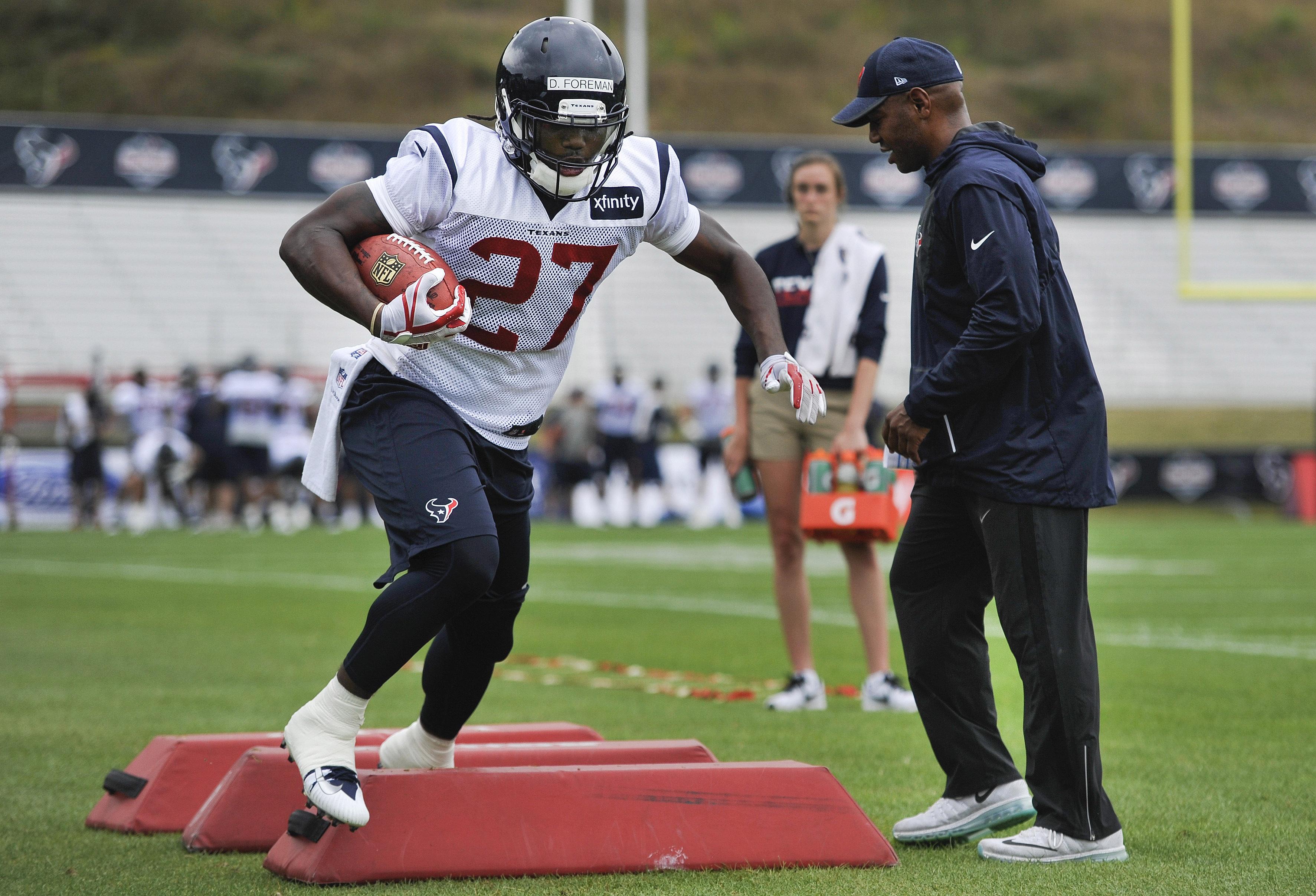 NFL: Houston Texans-Training Camp