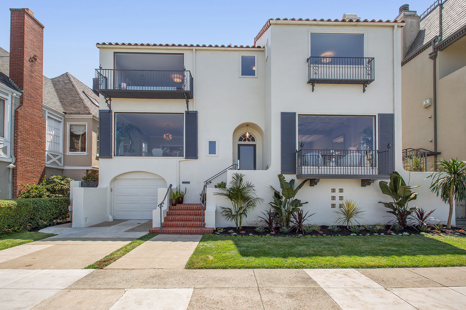 $8.9 million SF home sits directly across from the Marina Green