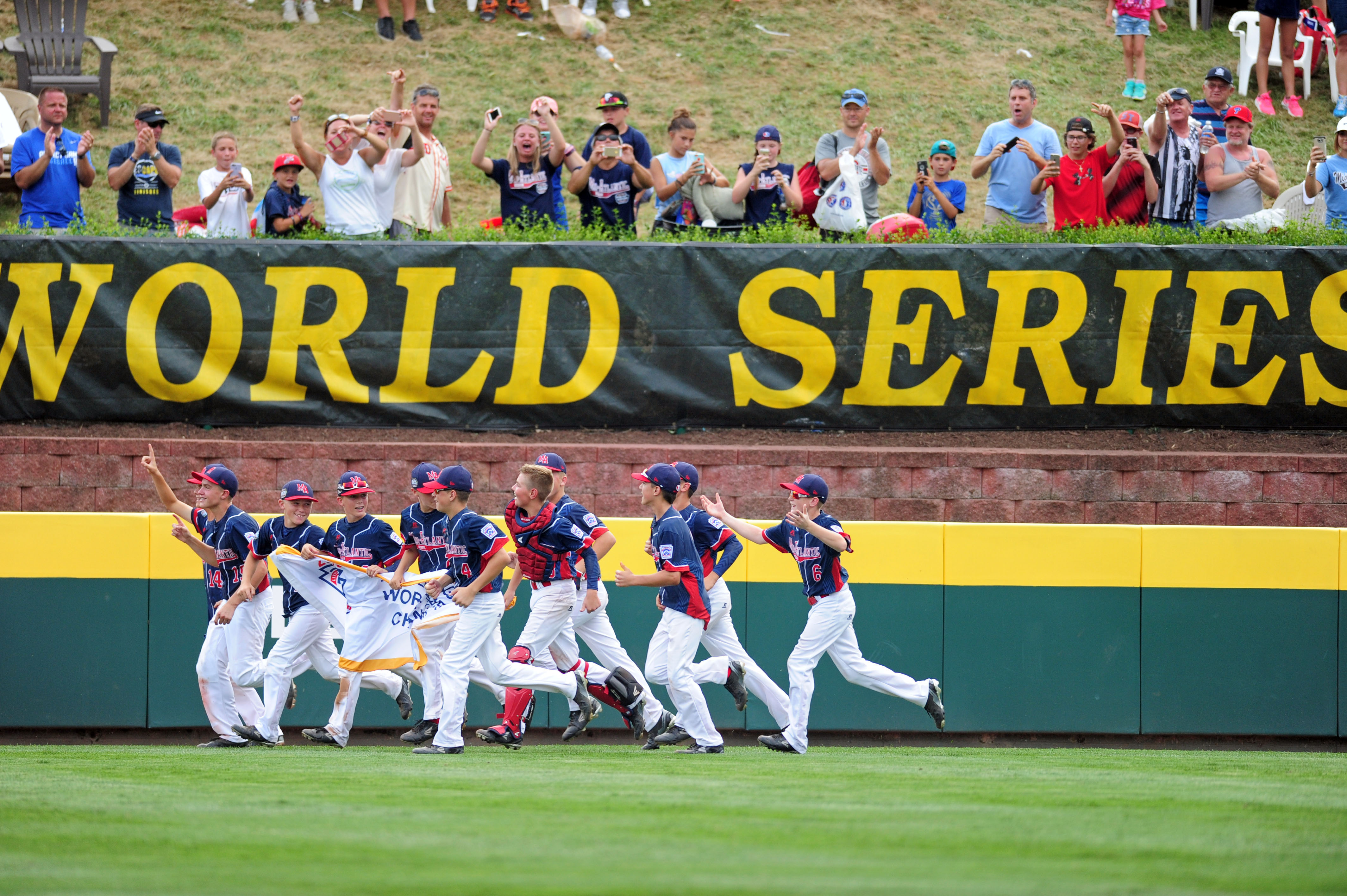 Baseball: Little League World Series-Asia-Pacific Region vs Mid-Atlantic Region