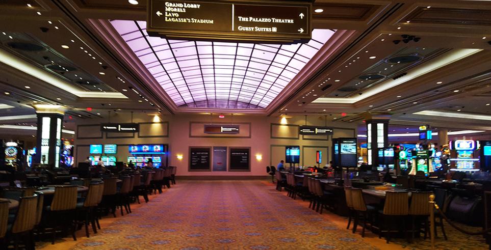 Palazzo casino floor