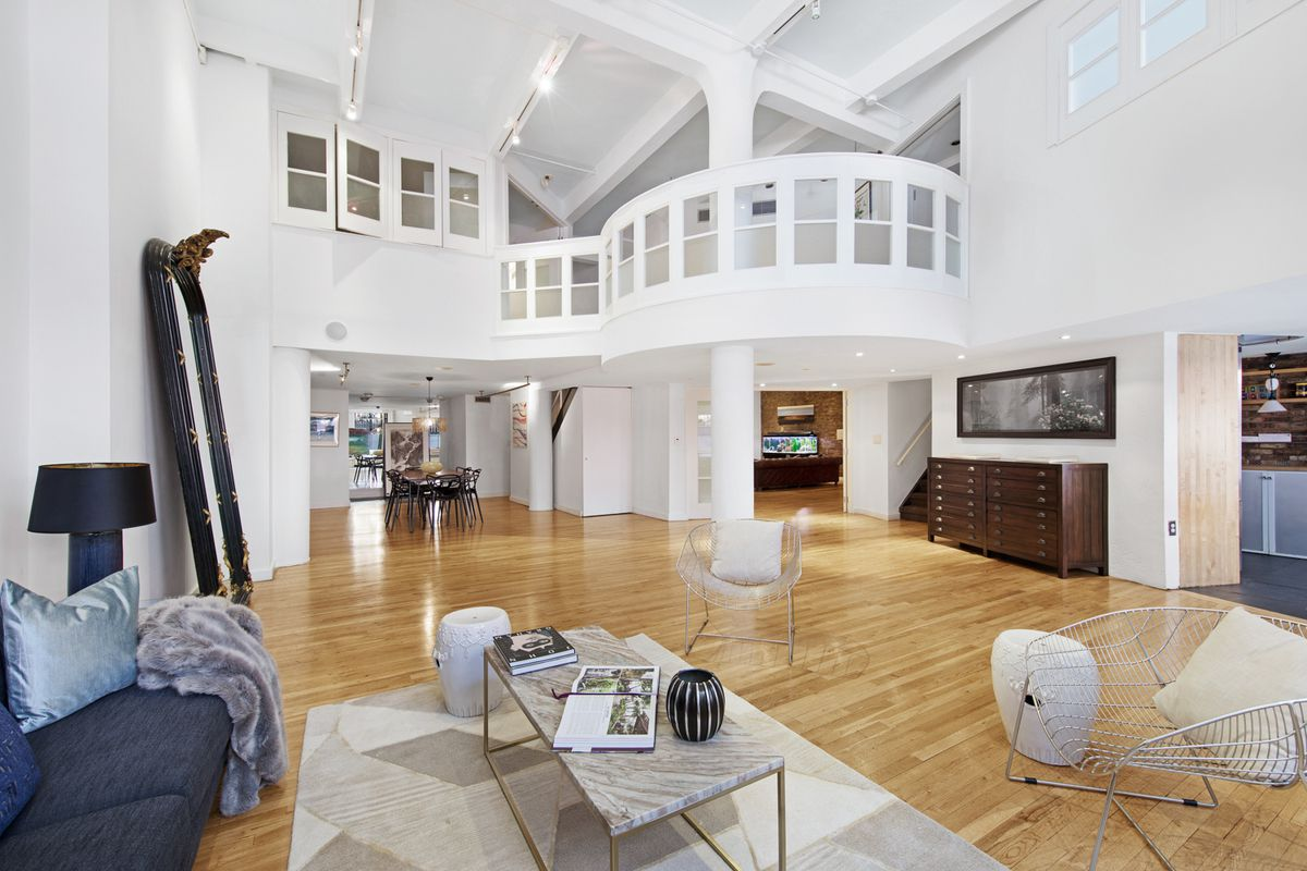 $5.2M West Village duplex comes with windowed catwalk, room for art