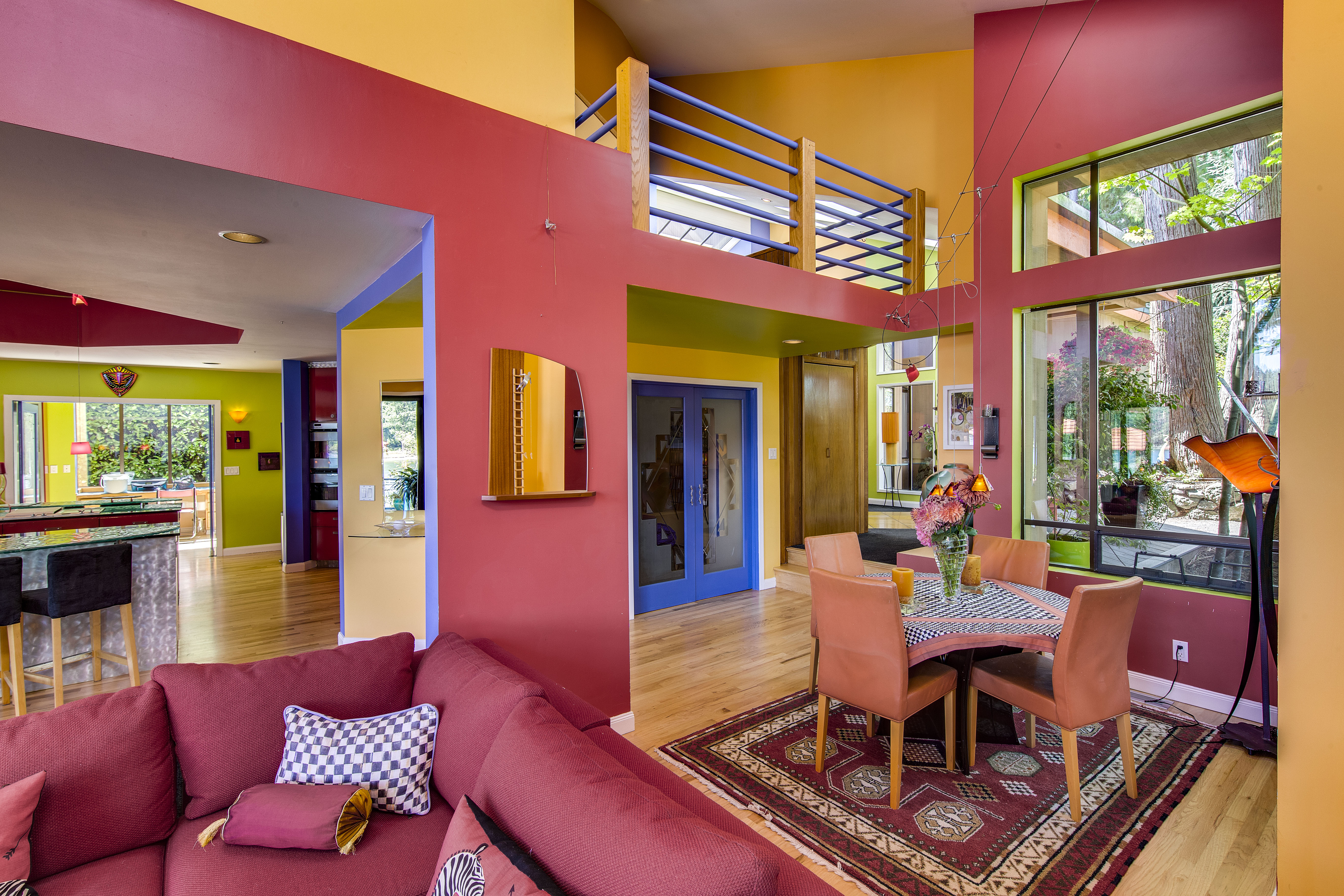 washington luxury homes curbed seattle crayola house lives up to its playful name