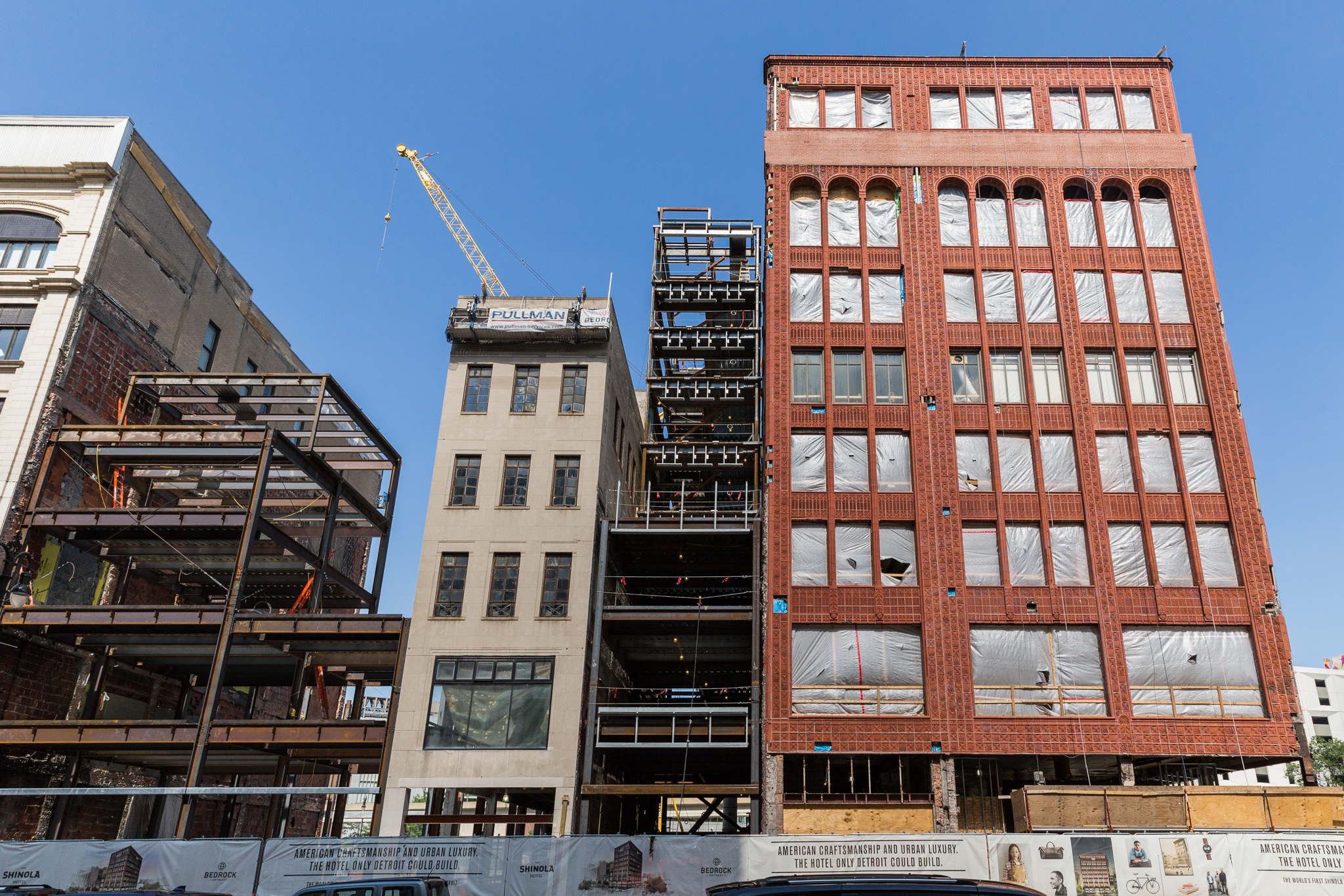 The Shinola Hotel Takes Shape In Downtown Detroit