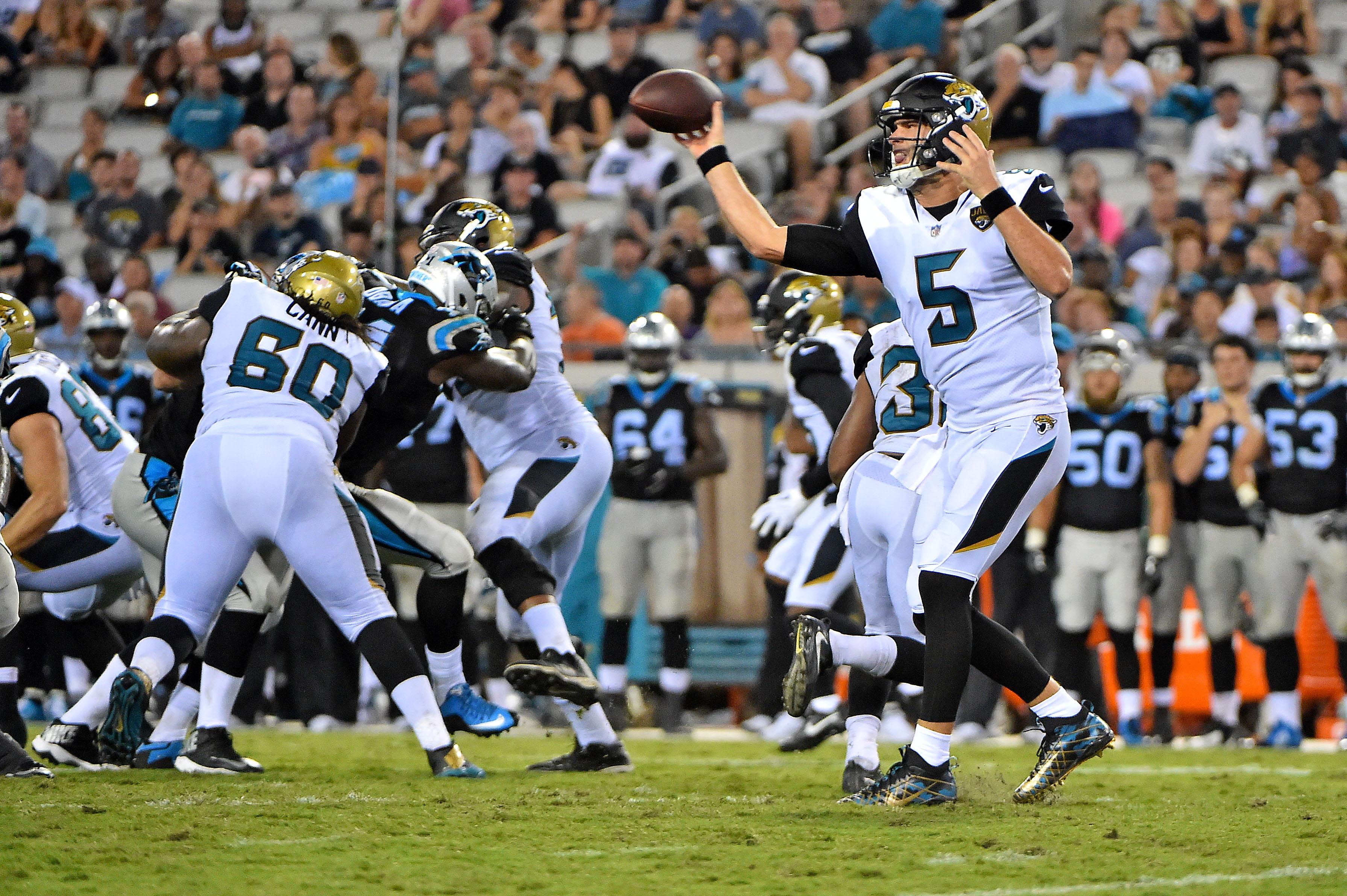 NFL: Carolina Panthers at Jacksonville Jaguars