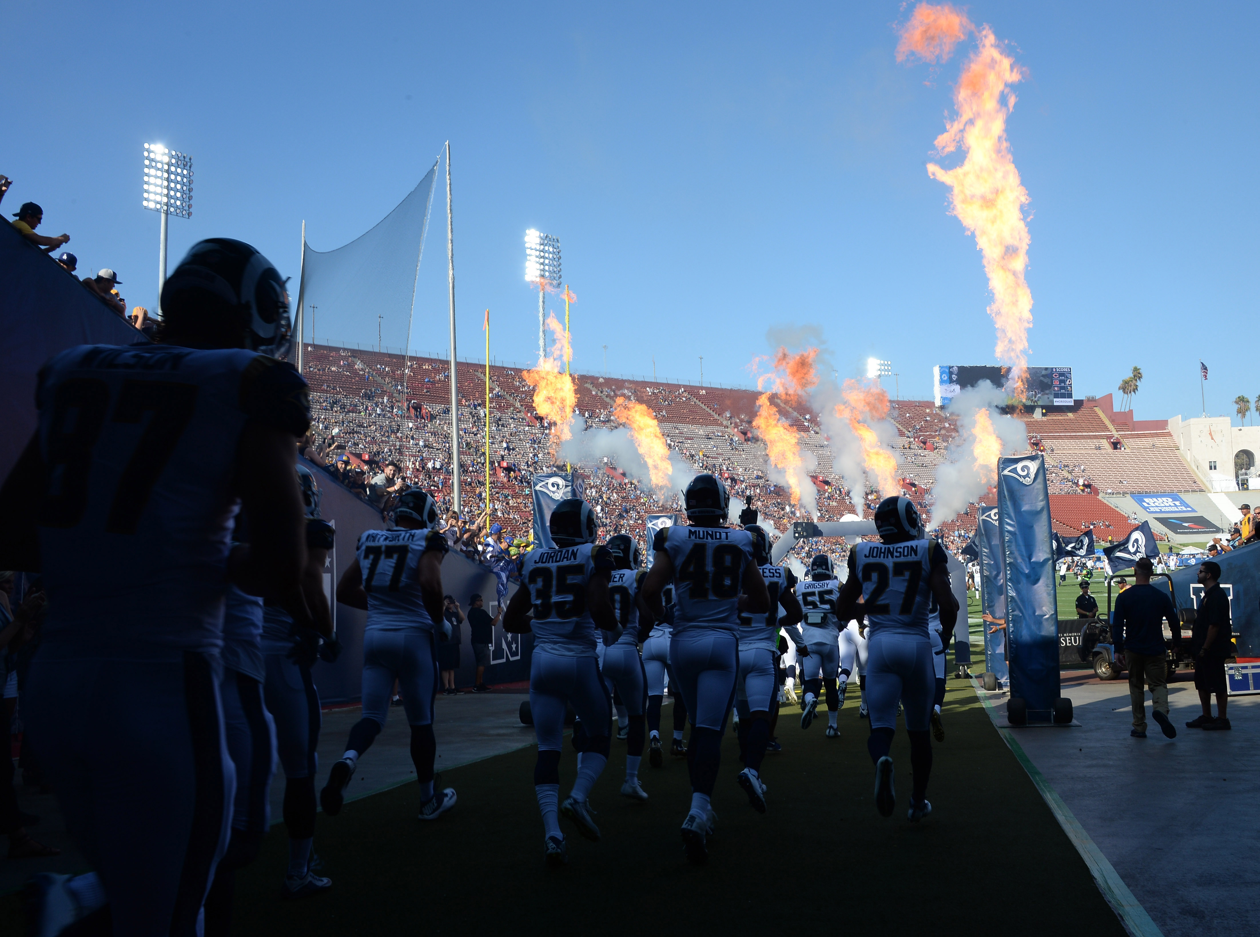 Los Angeles Chargers at Los Angeles Rams