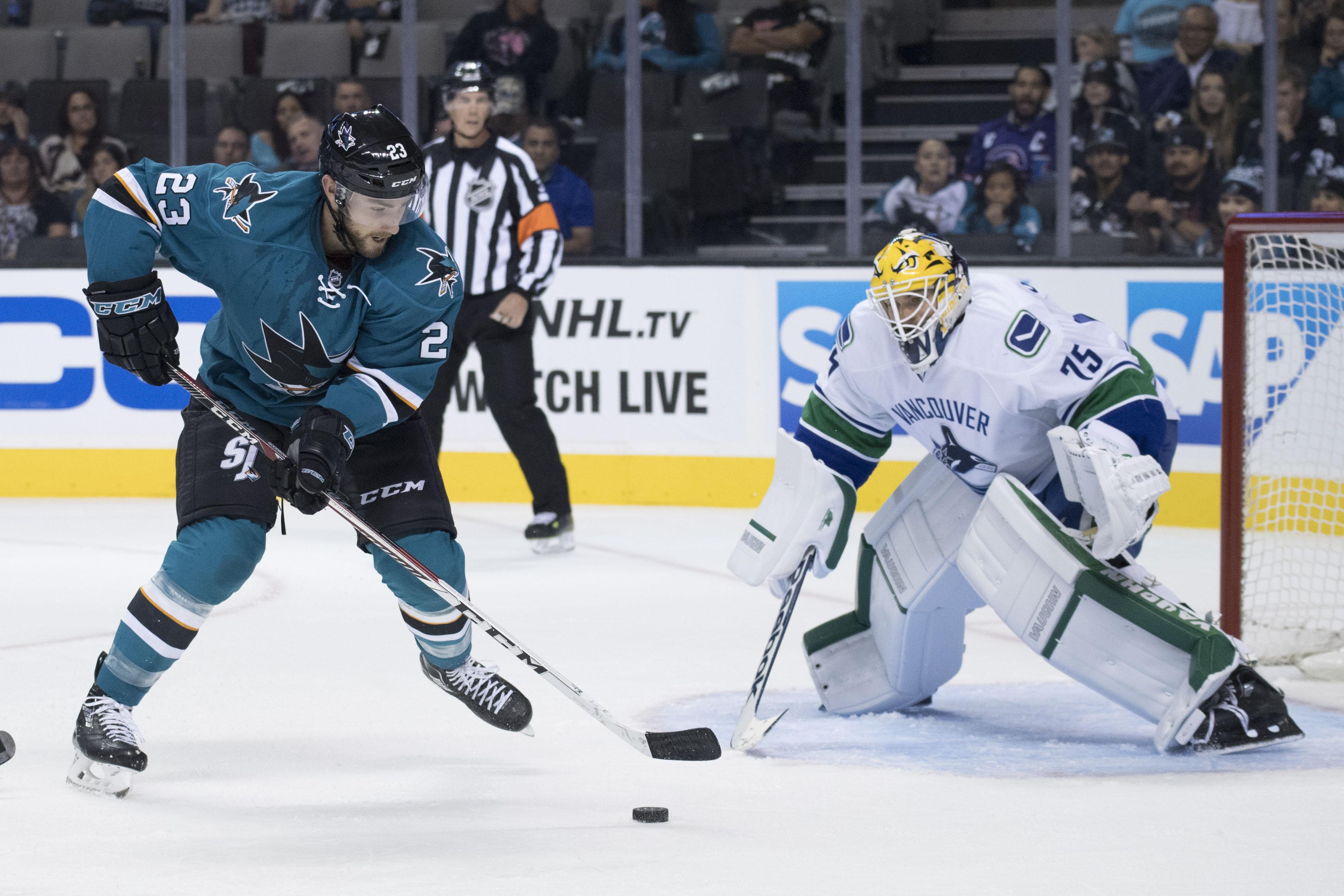 NHL: Preseason-Vancouver Canucks at San Jose Sharks