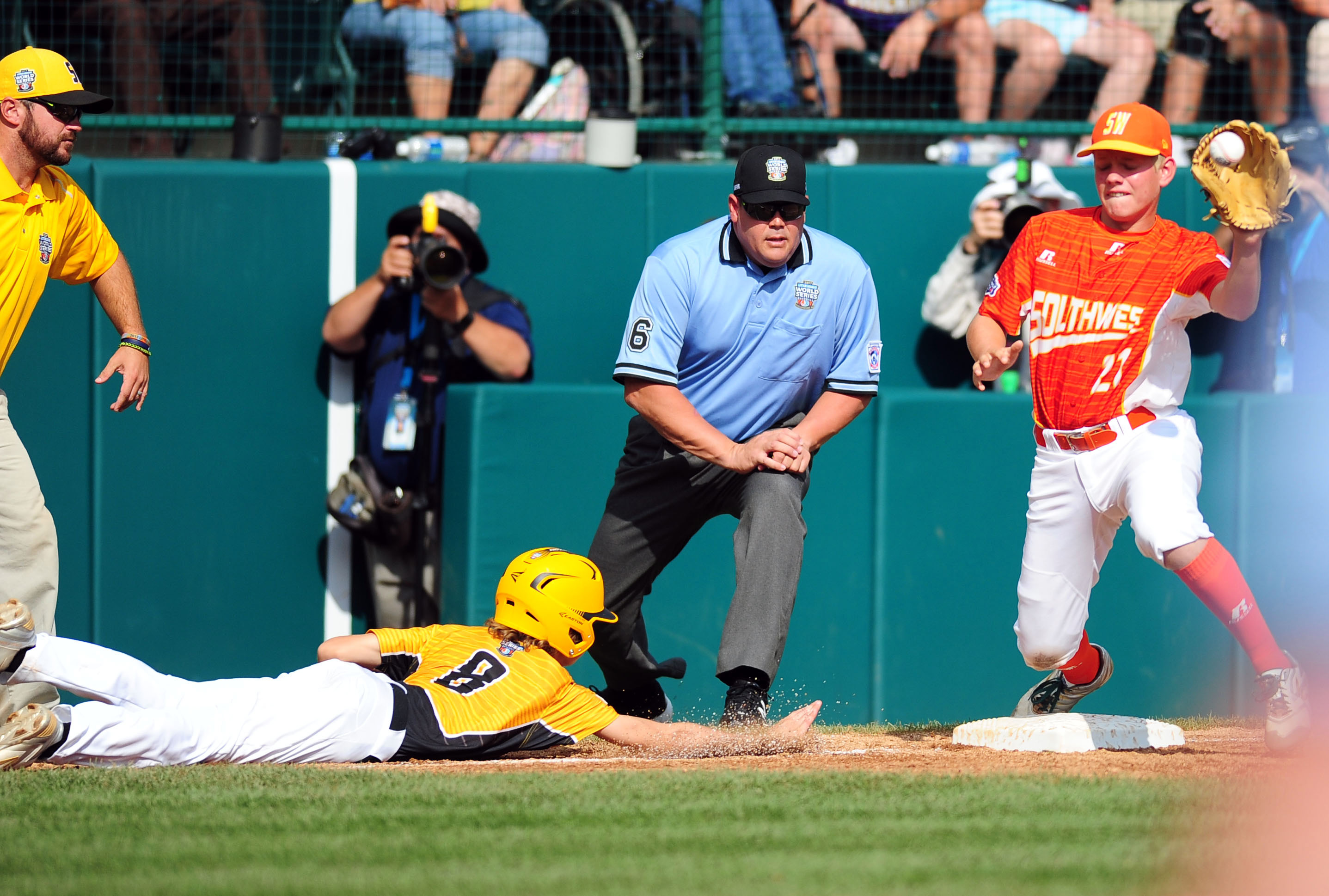 Baseball: Little League World Series-Southwest Region vs Southeast Region