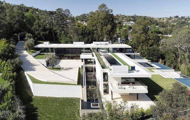 Beyonce and Jay Z house