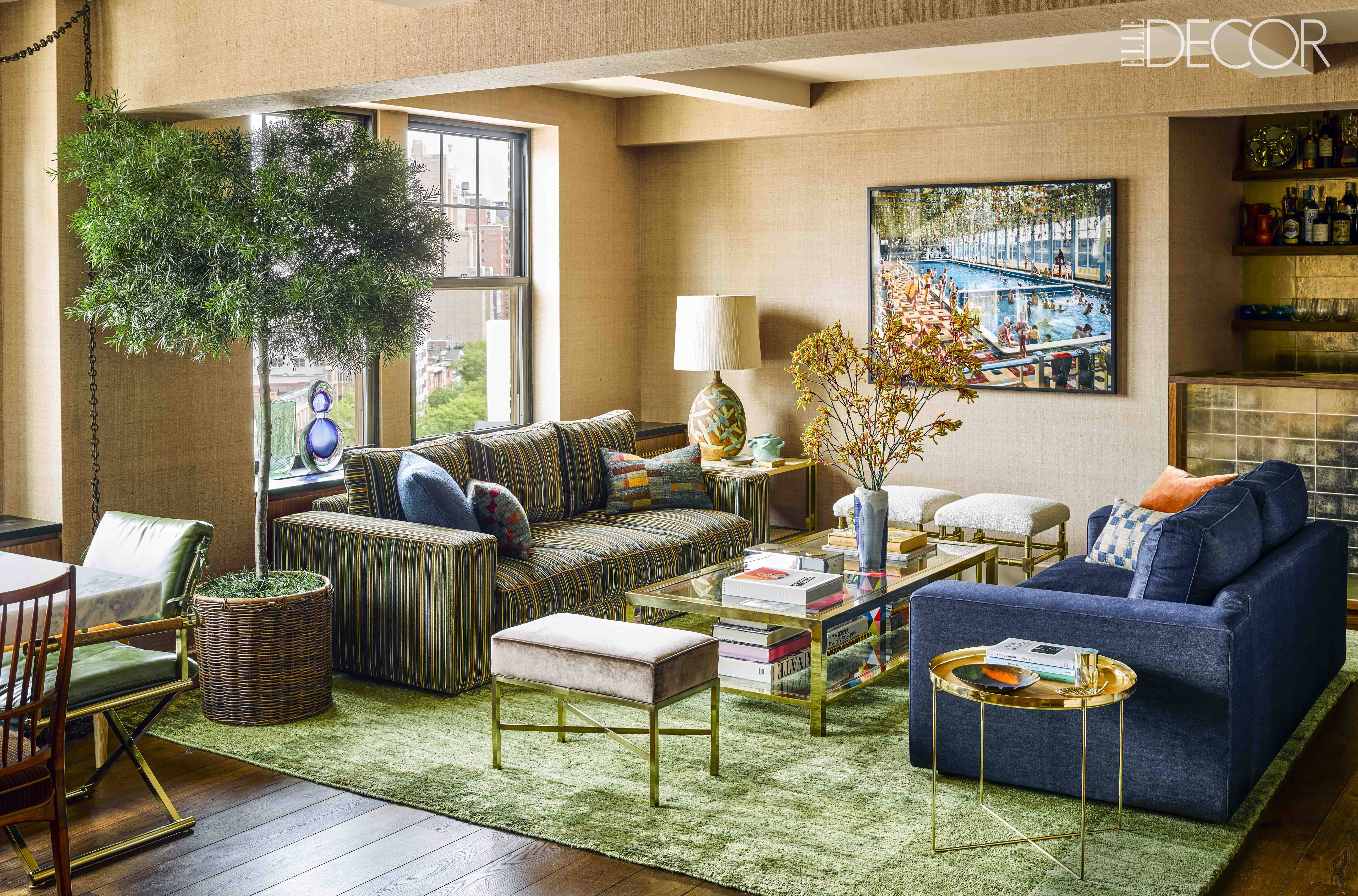 nyc celebrity homes curbed ny inside andy cohen s cheerful chic west village duplex