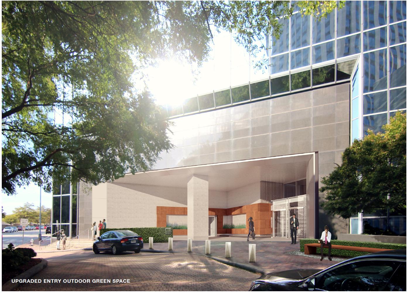 a bucked building's makeover in Atlanta.
