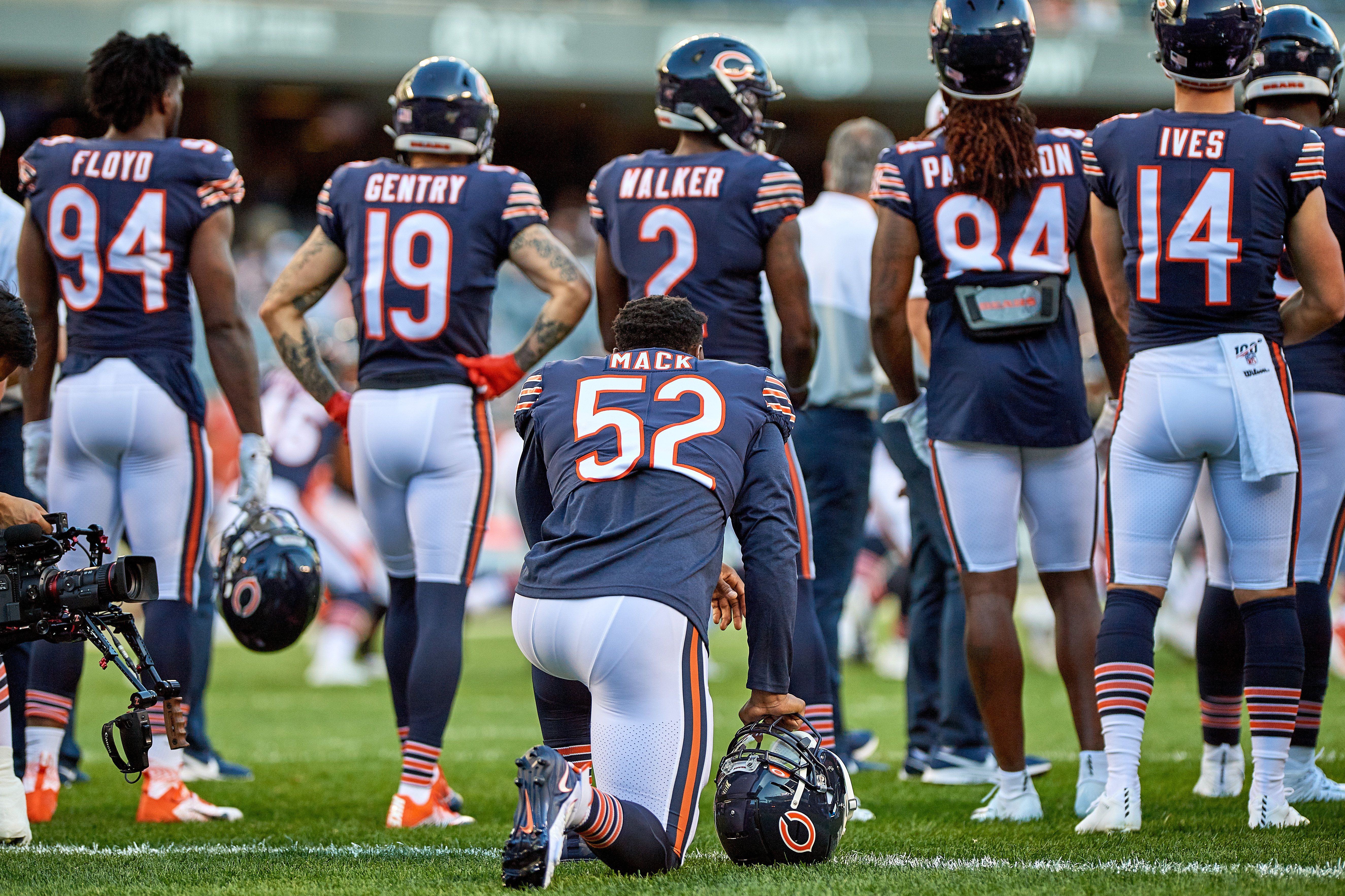 NFL: AUG 08 Preseason - Panthers at Bears