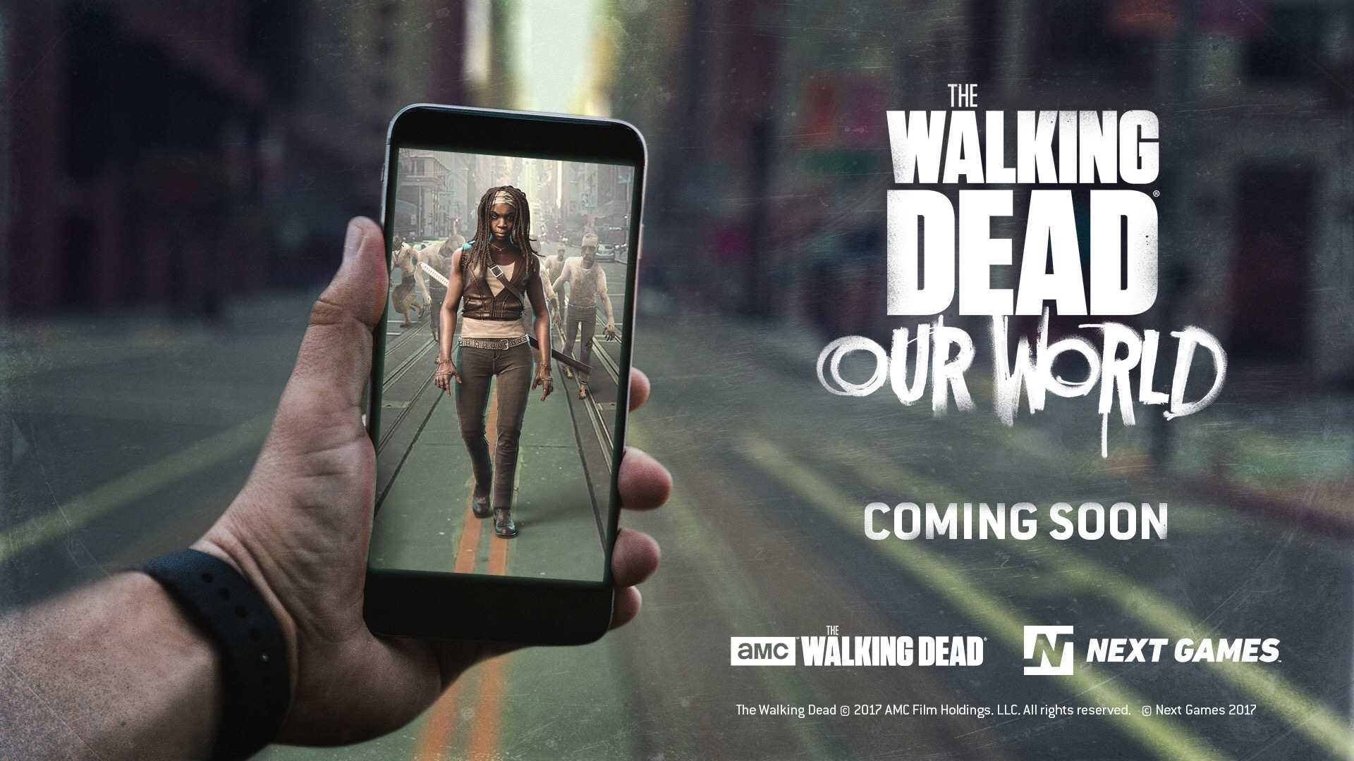 The Walking Dead is getting a Pokémon Go-style AR game - The