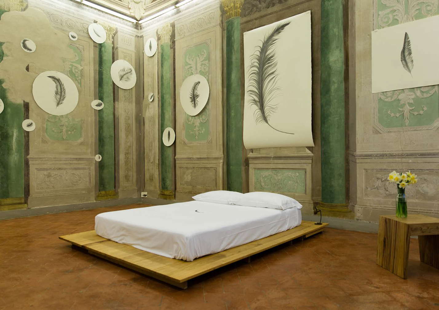 Inside A 1500s Palazzo Turned Artist Residency In Florence