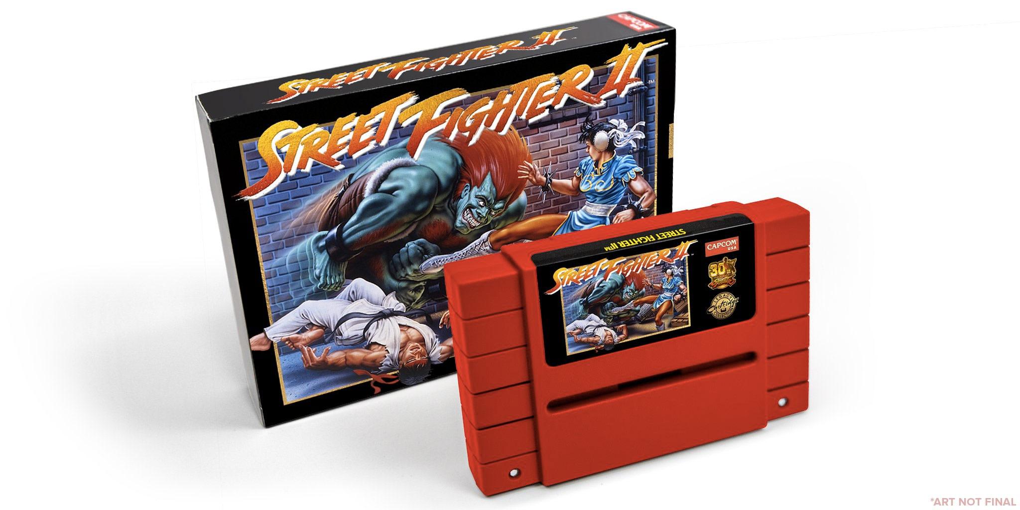 Capcom re-releasing Street Fighter 2 on SNES cartridge
