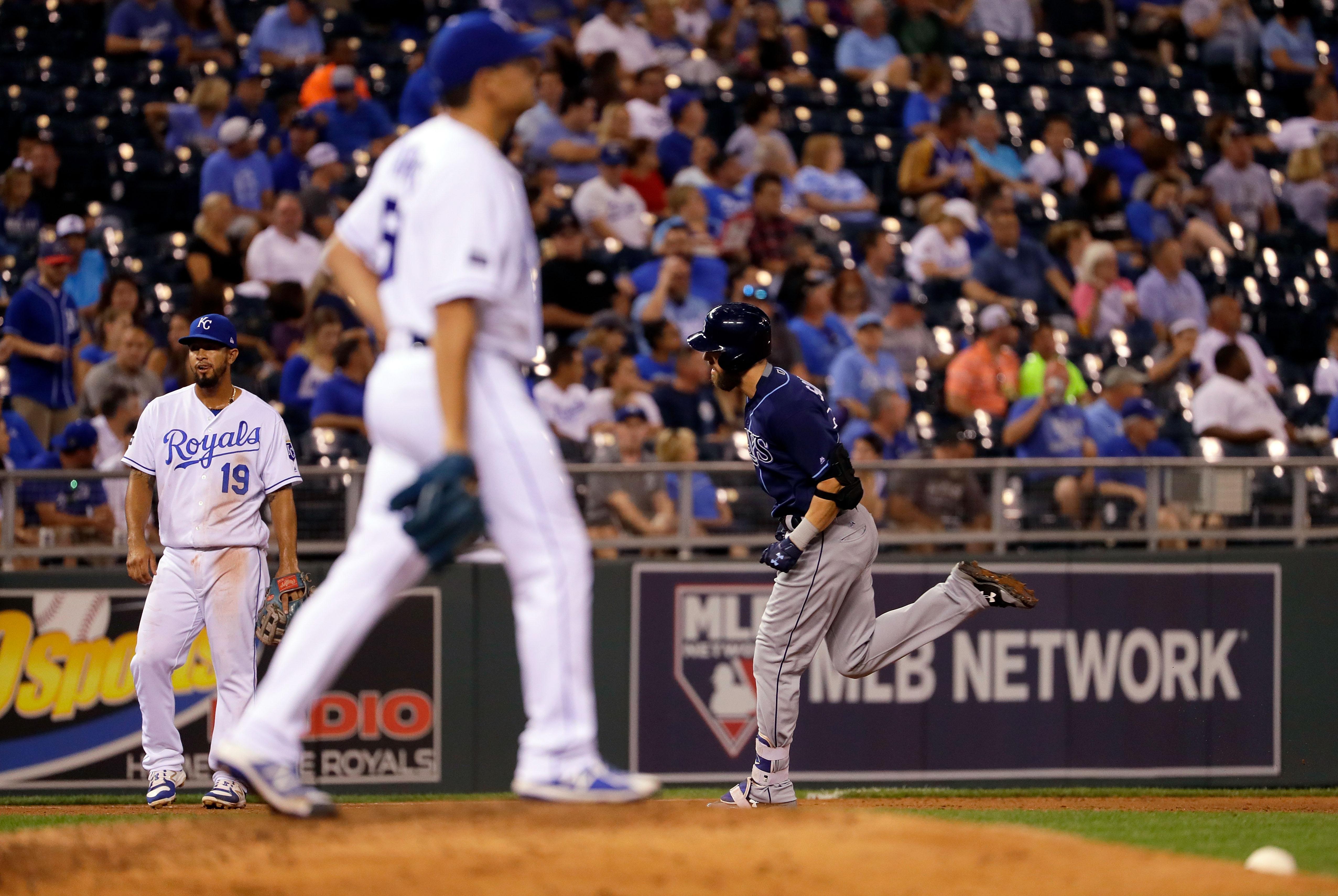 Tampa Bay Rays v Kansas City Royals