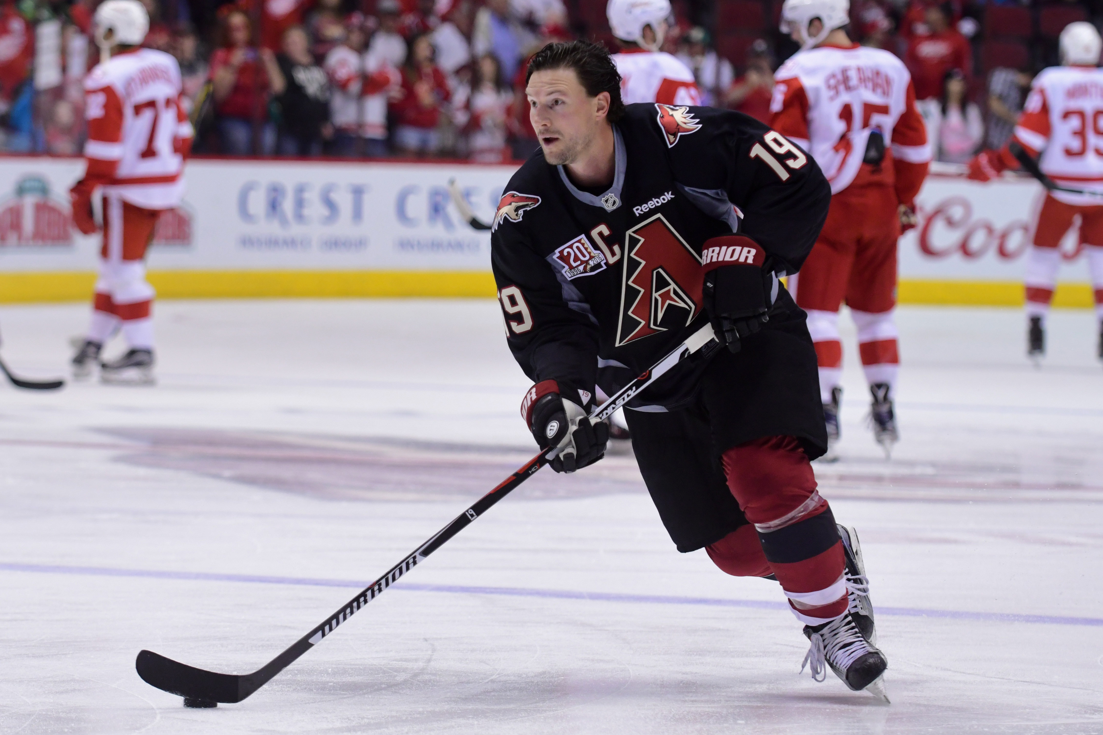 NHL: Detroit Red Wings at Arizona Coyotes