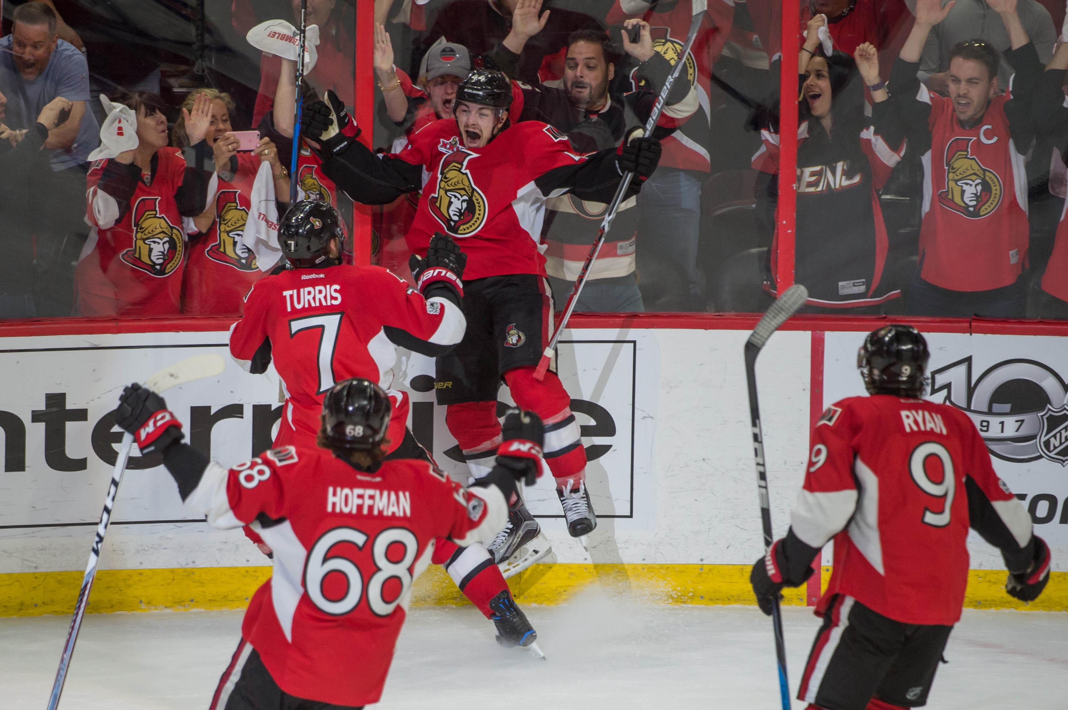 NHL: Stanley Cup Playoffs-New York Rangers at Ottawa Senators