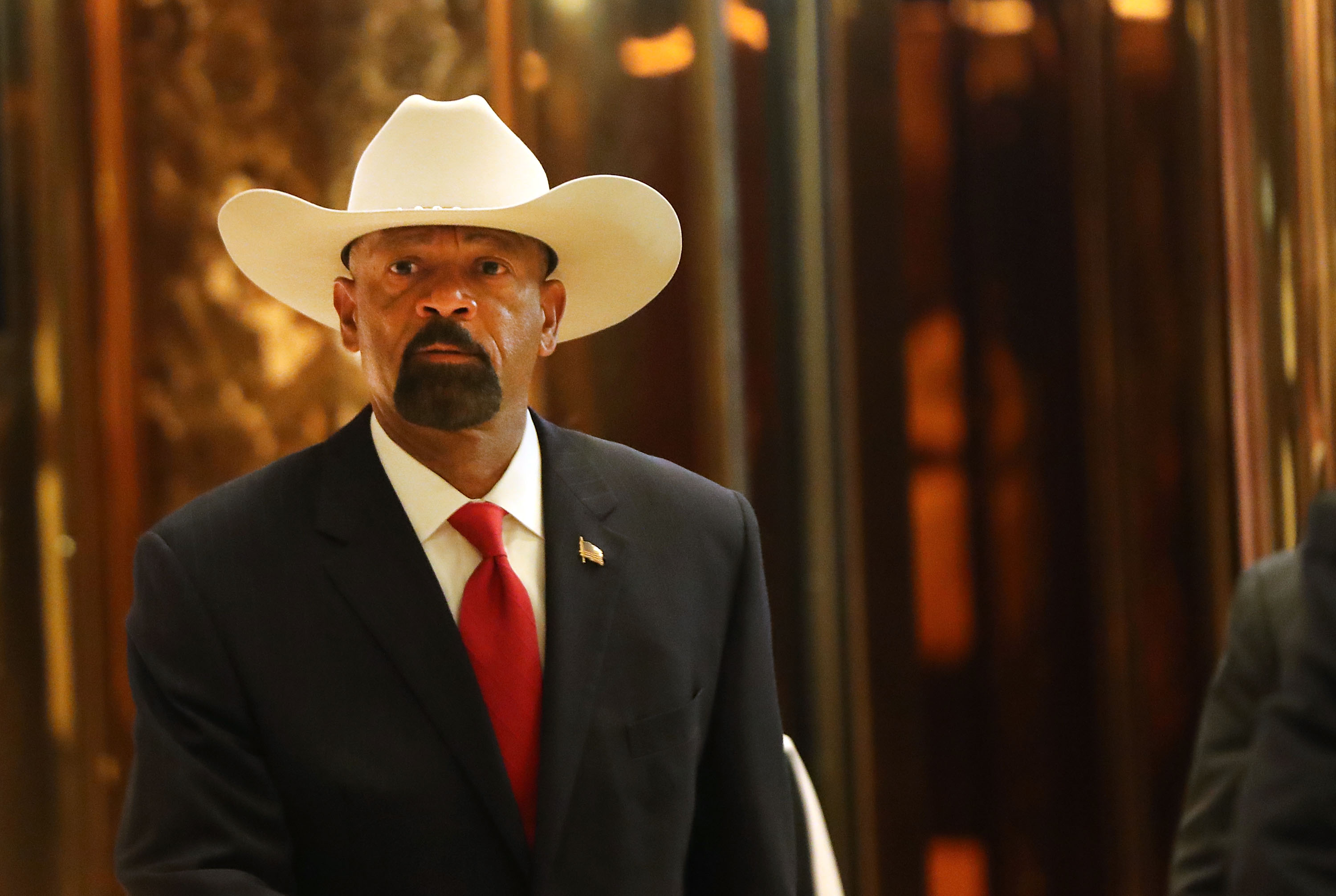 Notorious Trump supporter David Clarke steps down as Milwaukee County's sheriff