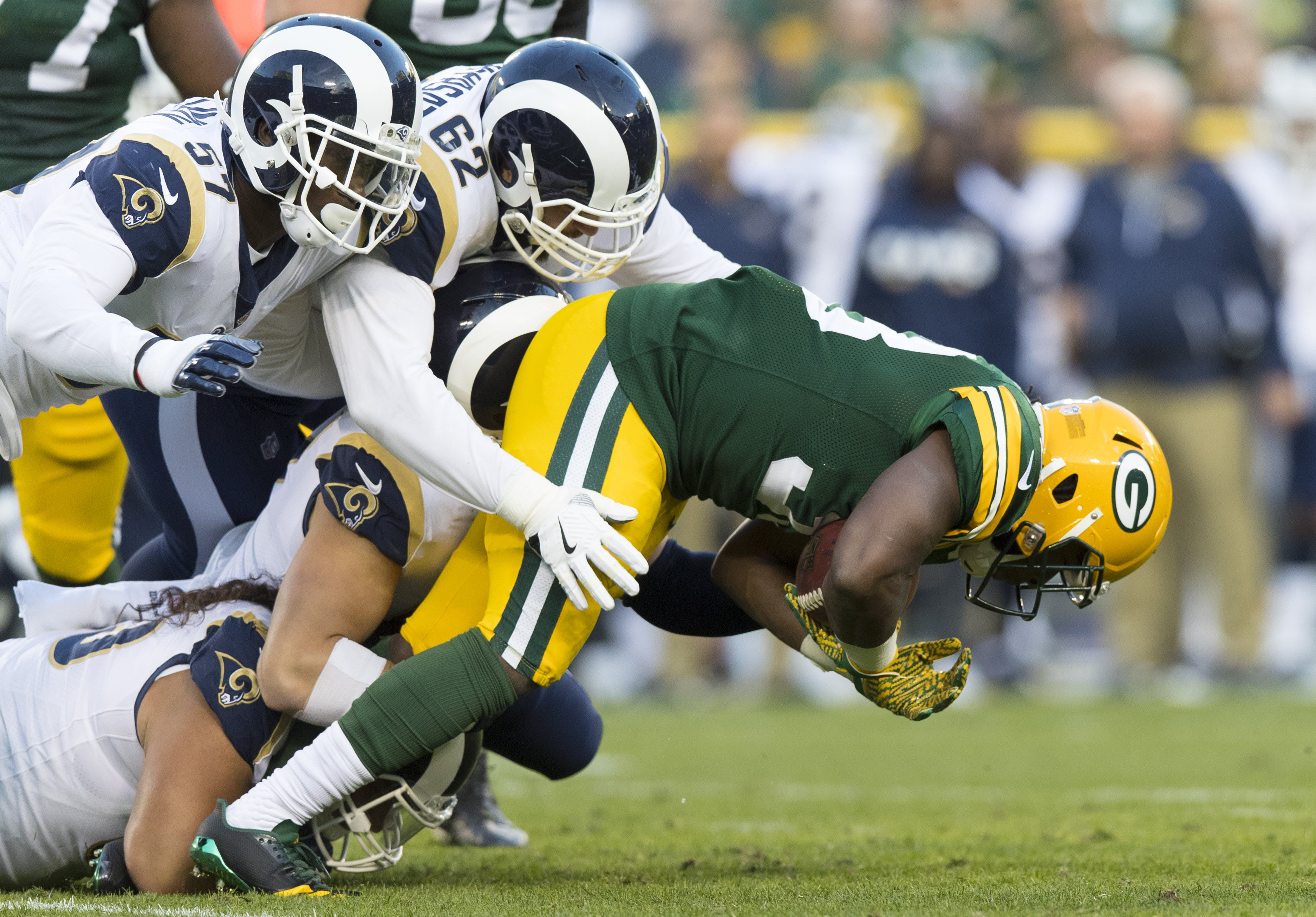 NFL: Los Angeles Rams at Green Bay Packers