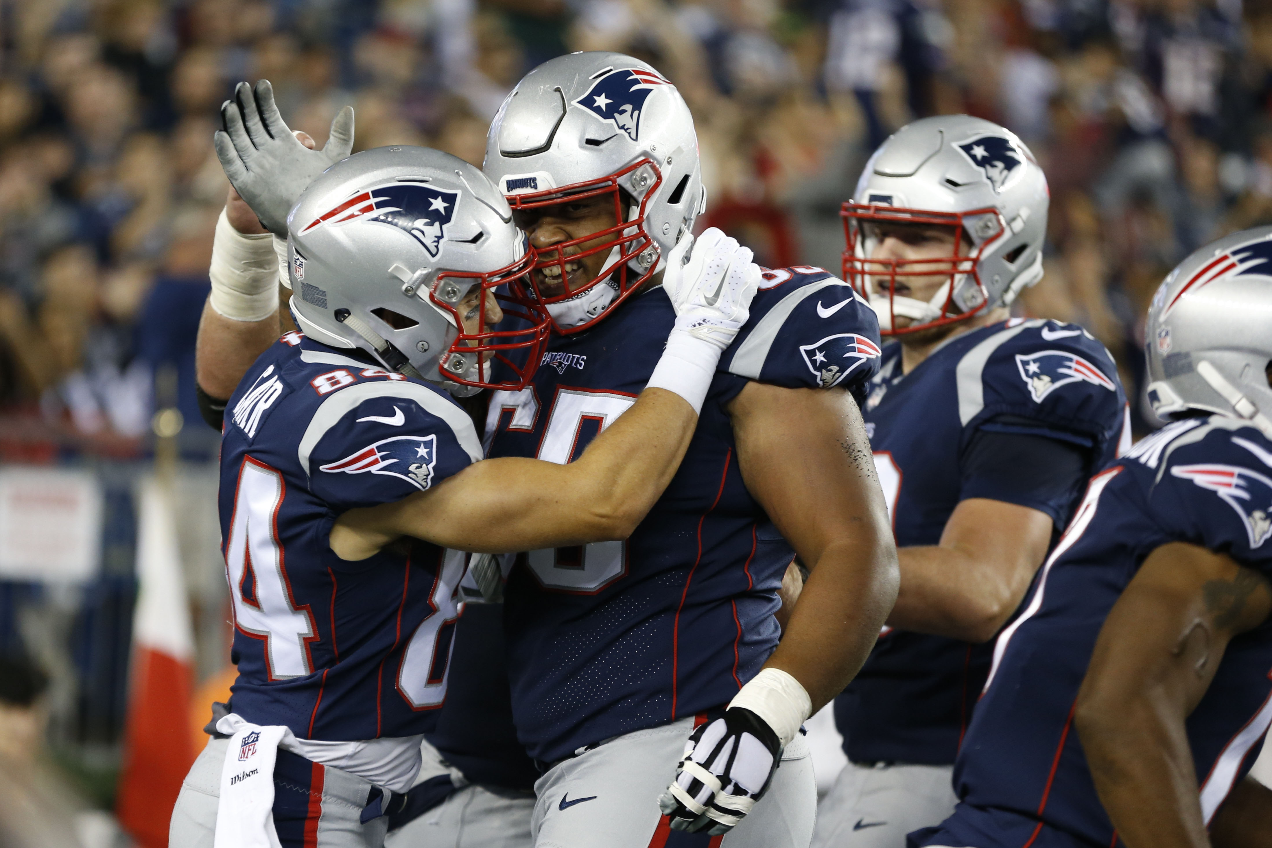 21e72dd2 Patriots vs Giants: Observations from New England's surprisingly fun ...