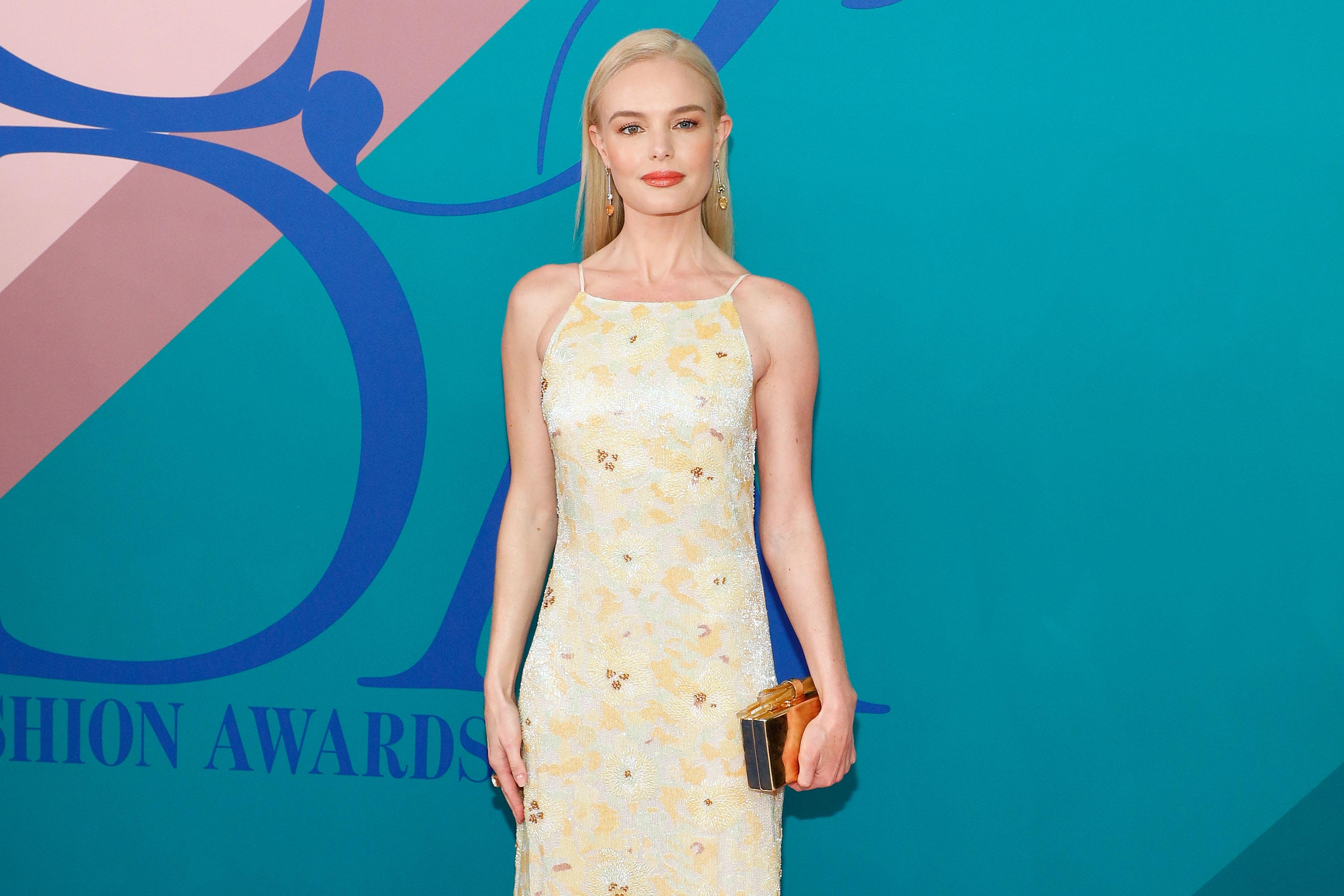 Kate Bosworth at the 2017 CFDA Awards.