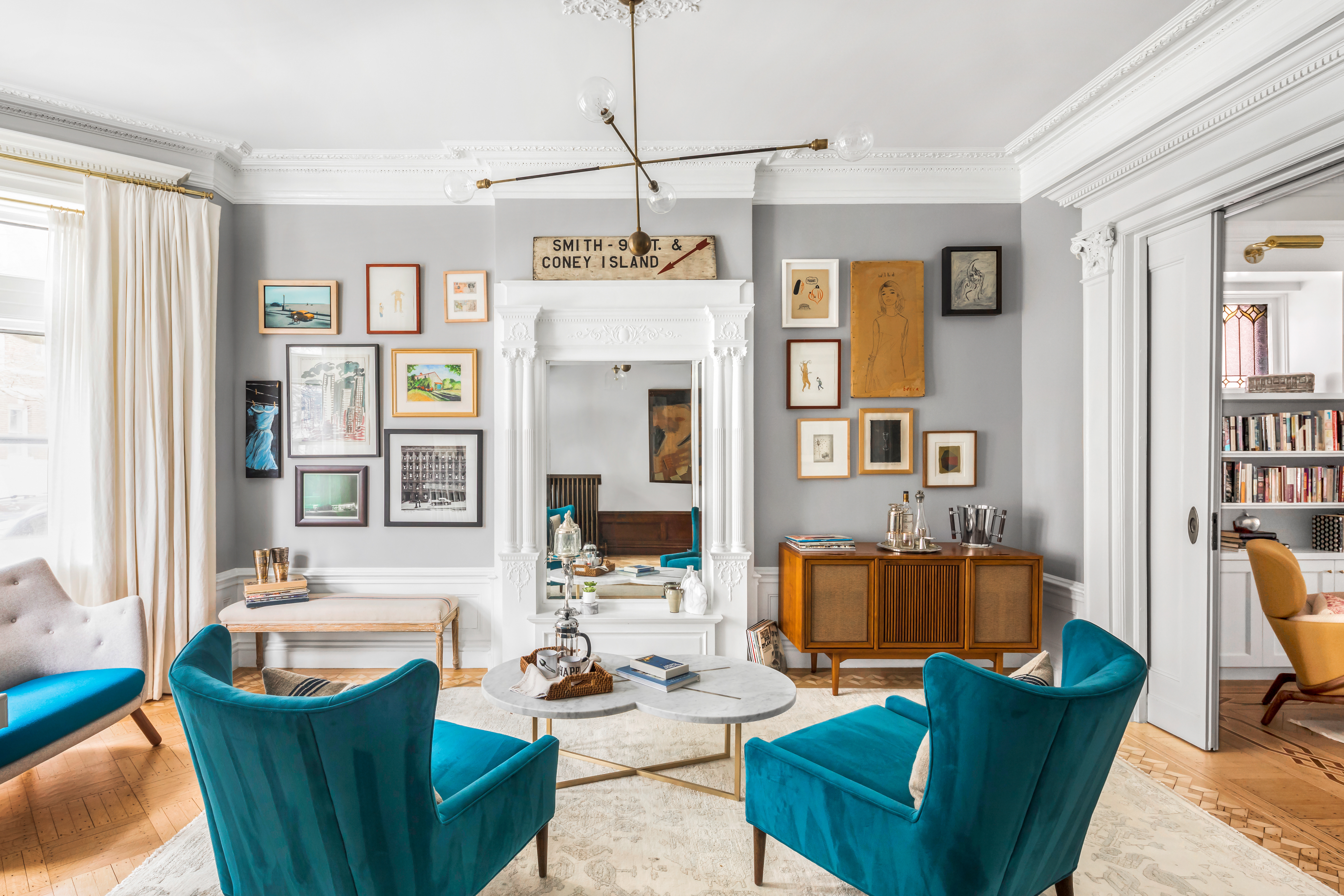 nyc celebrity homes curbed ny emily blunt and john krasinski list dreamy 8m park slope townhouse