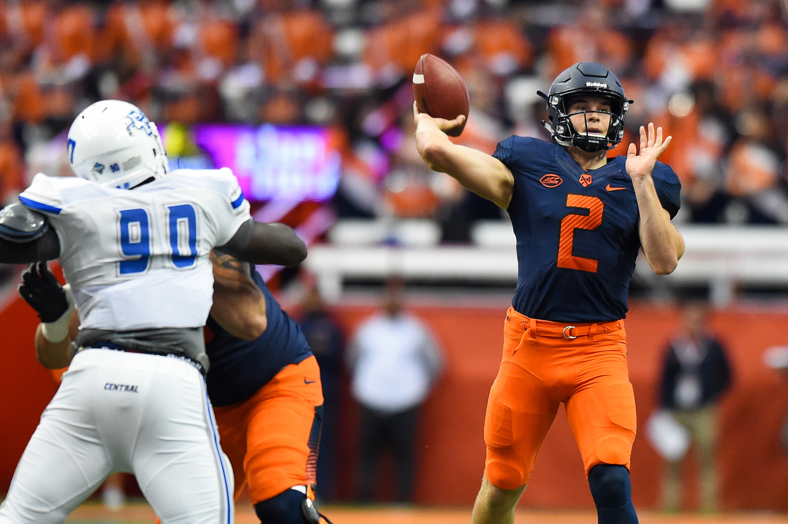 NCAA Football: Central Connecticut State at Syracuse