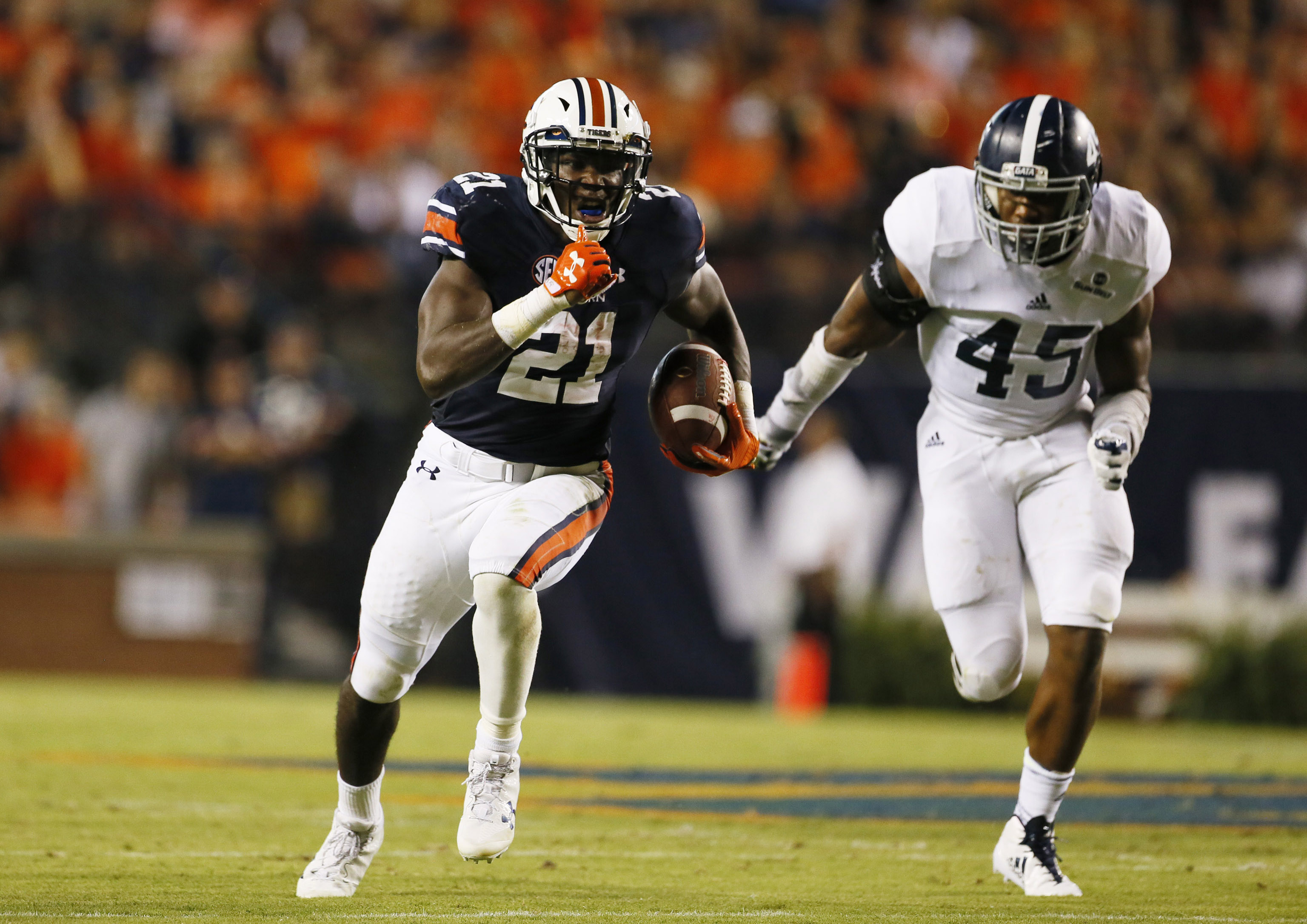 NCAA Football: Georgia Southern at Auburn