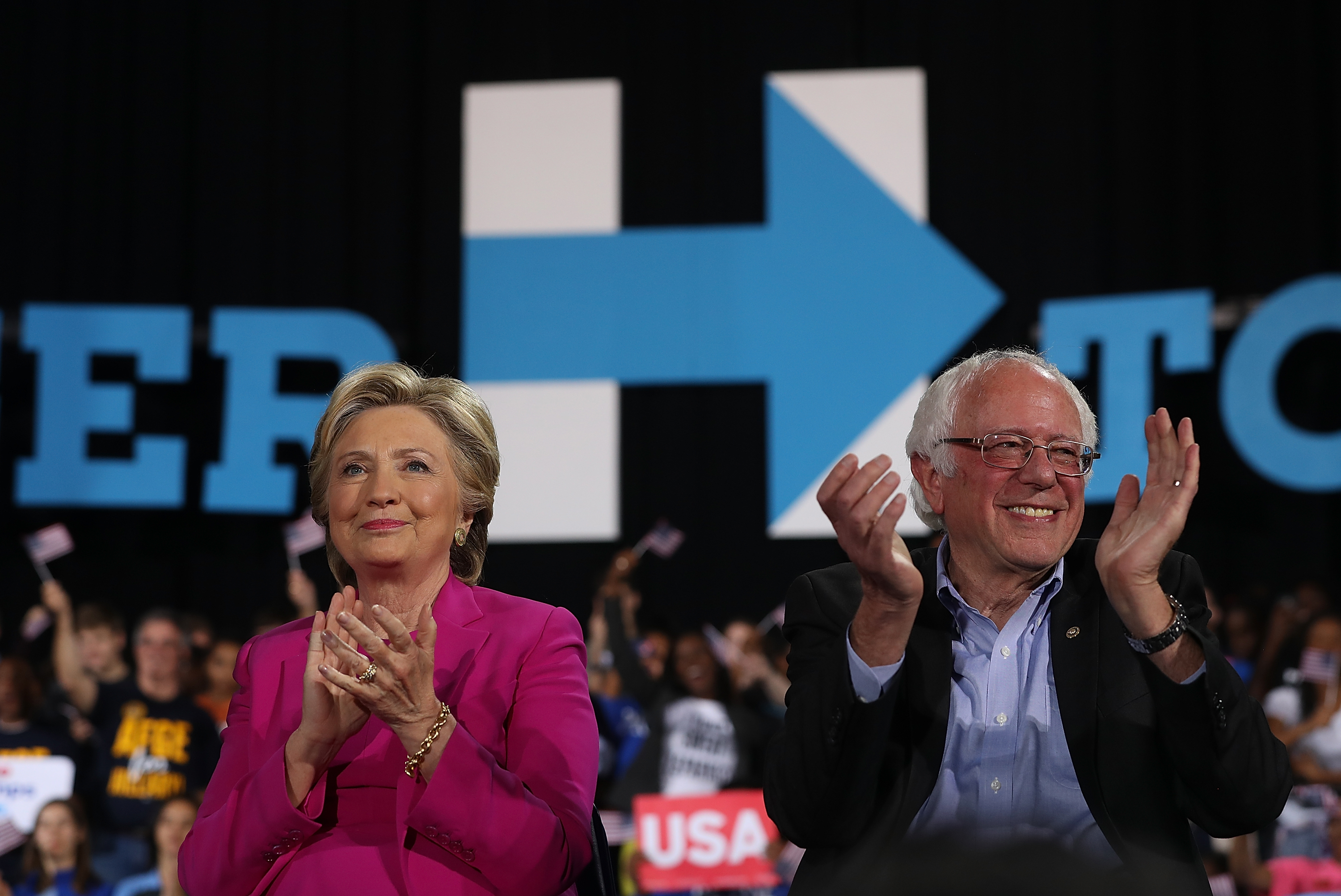 Hillary Clinton Campaigns In North Carolina Ahead Of Election