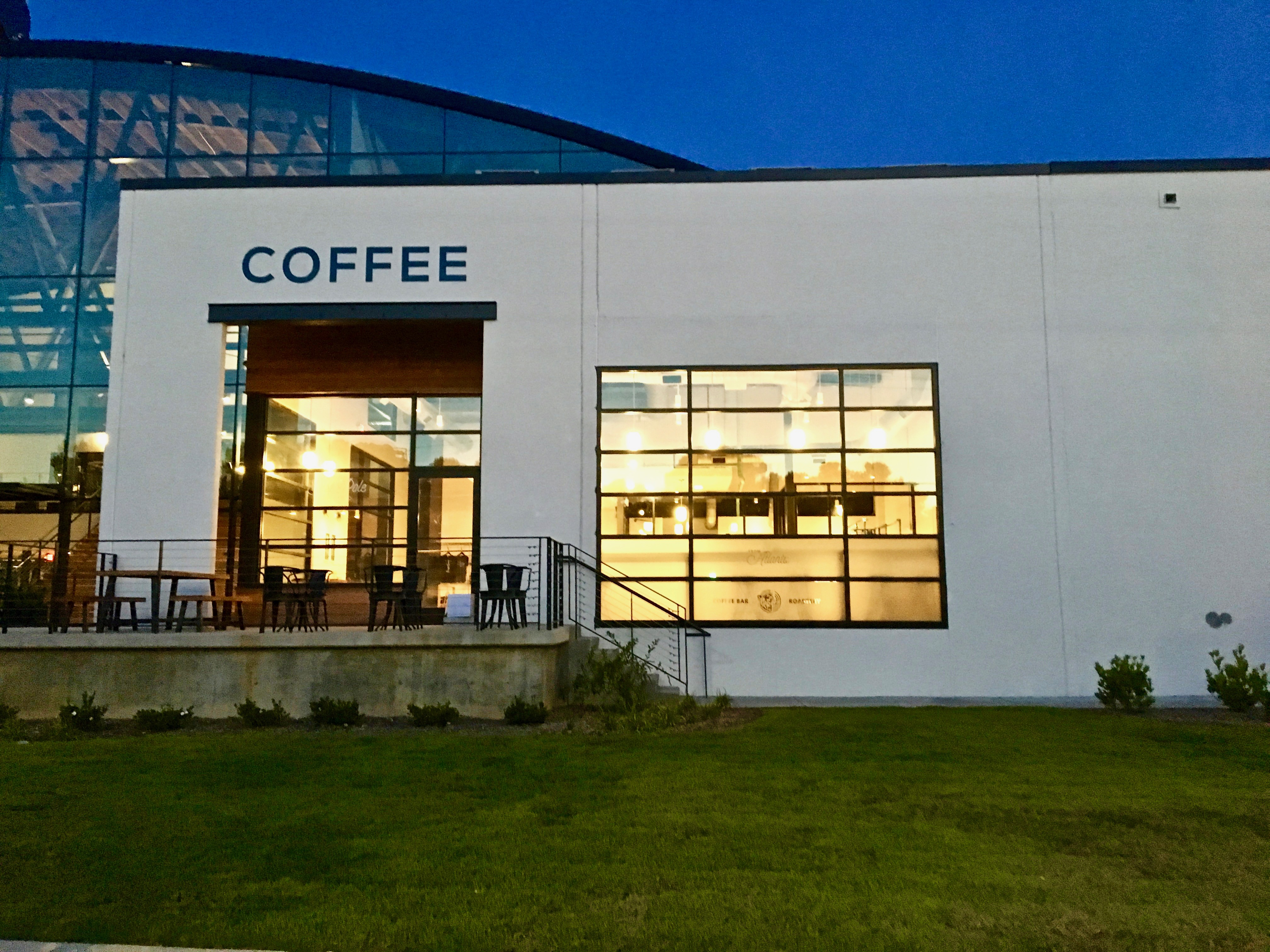 Exterior shot of East Pole Coffee