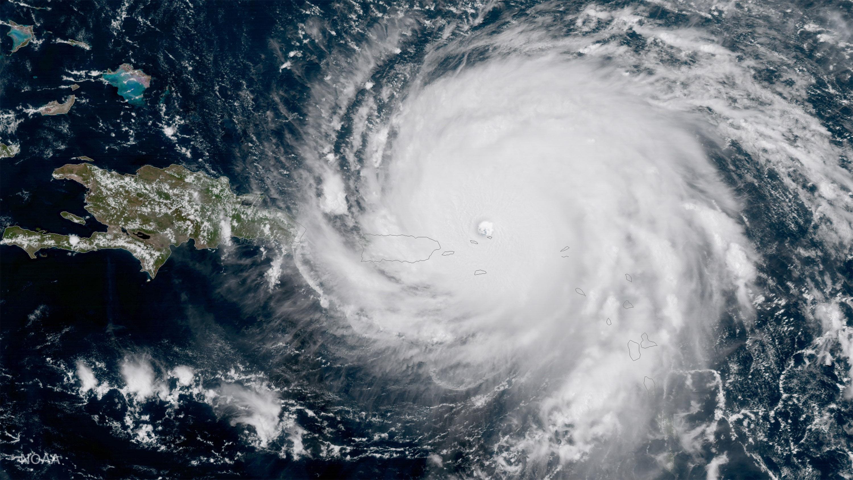 Hurricane Irma Approaches Puerto Rico