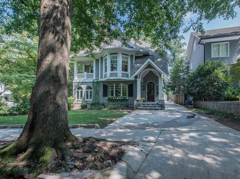 A home for sale in Atlanta's Brookwood Hill neighborhood.
