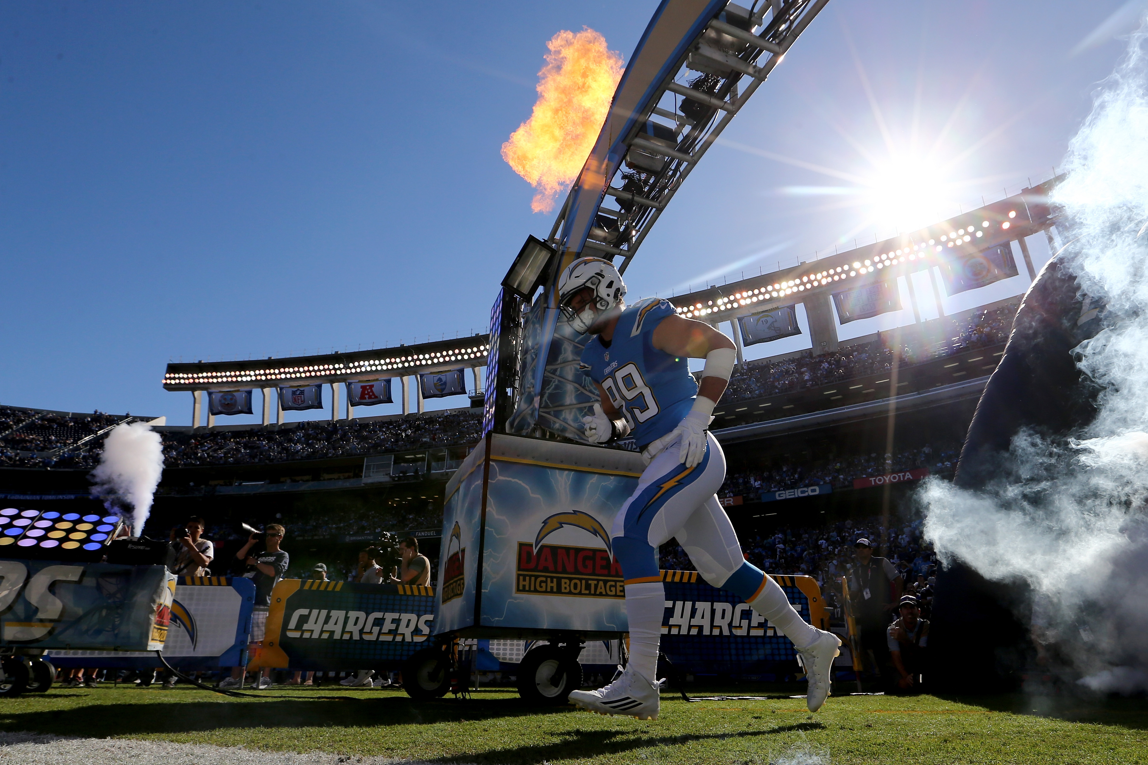 Tennessee Titans v San Diego Chargers