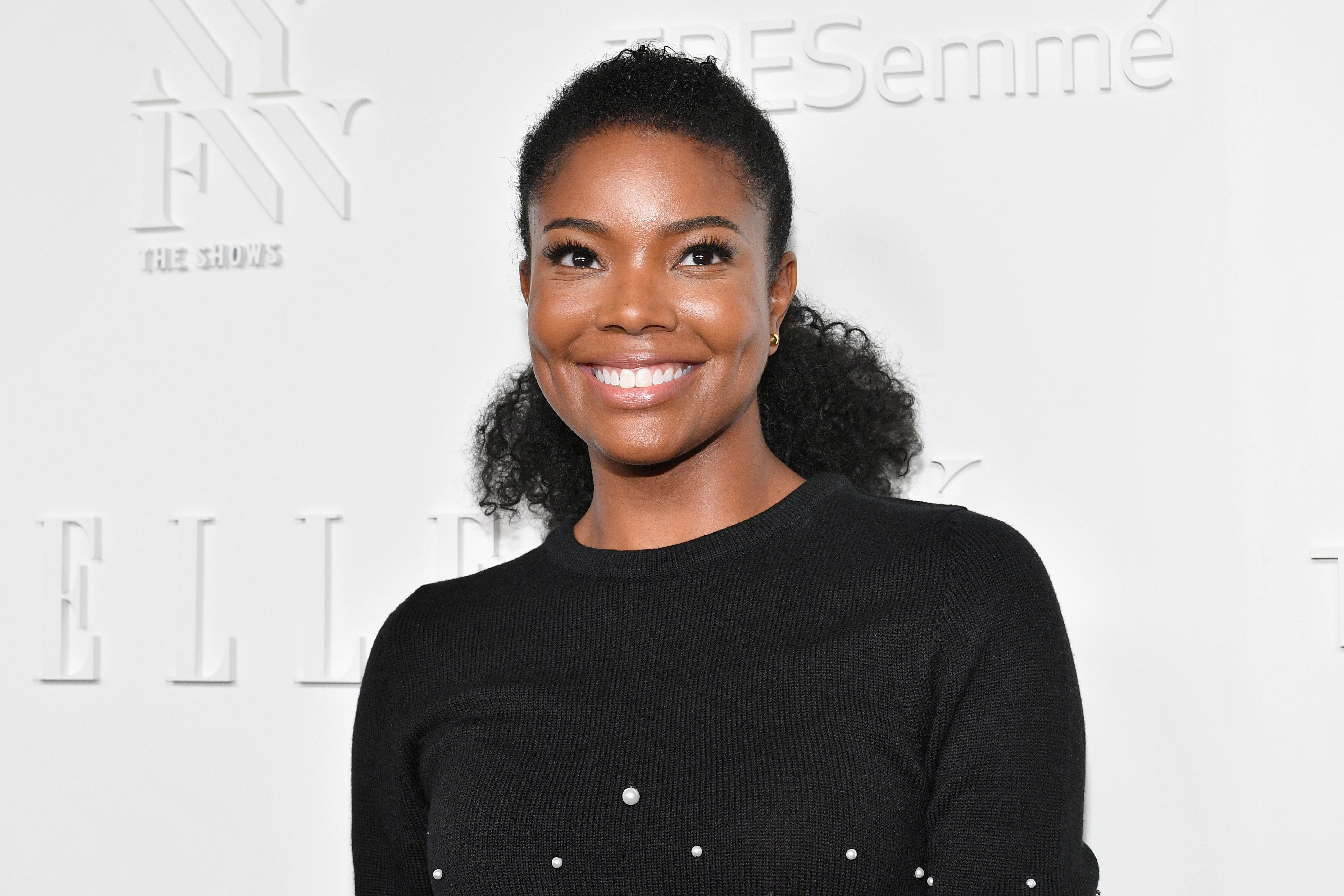 Gabrielle Union smiling at an event