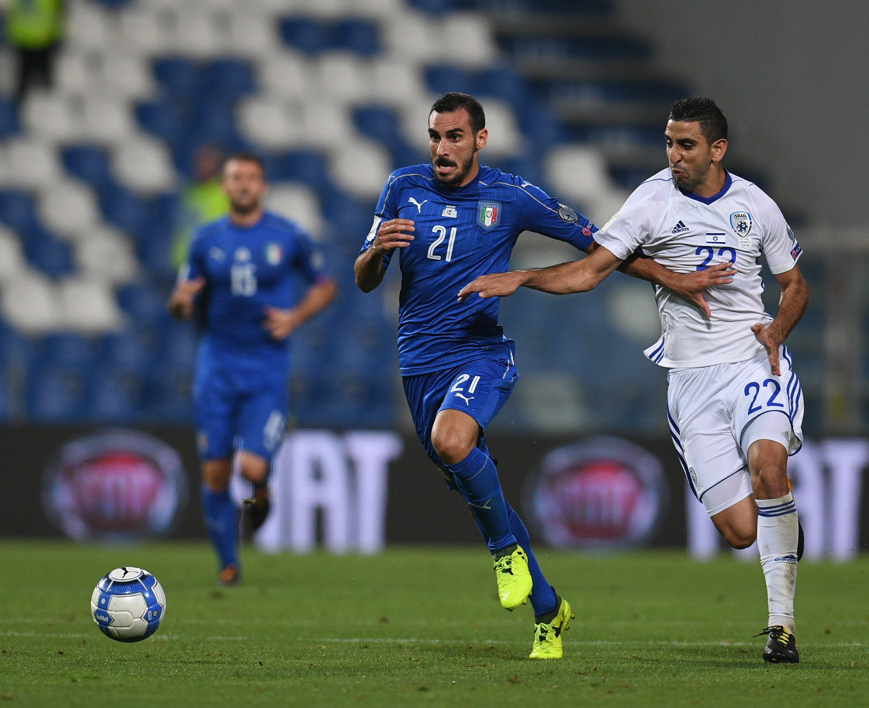 Italy v Israel - FIFA 2018 World Cup Qualifier