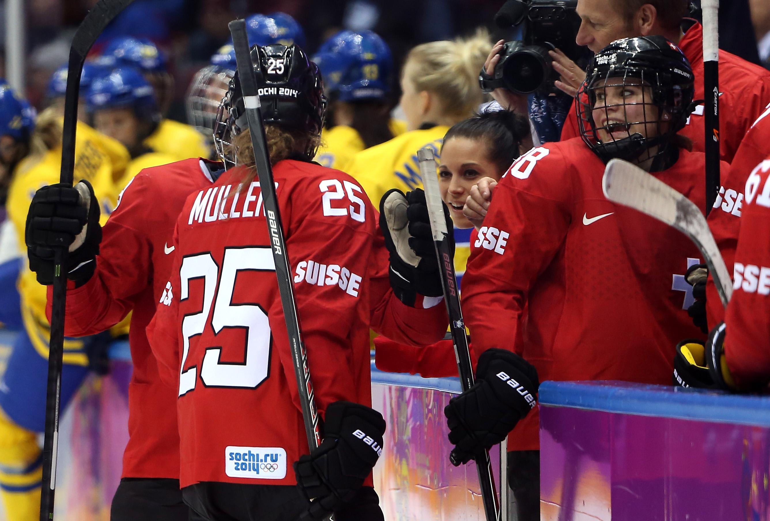 Ice Hockey - Winter Olympics Day 13 - Switzerland v Sweden