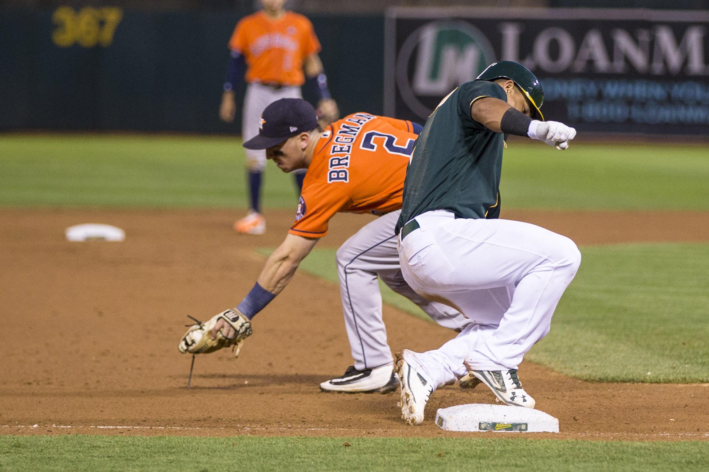 MLB: Game Two-Houston Astros at Oakland Athletics