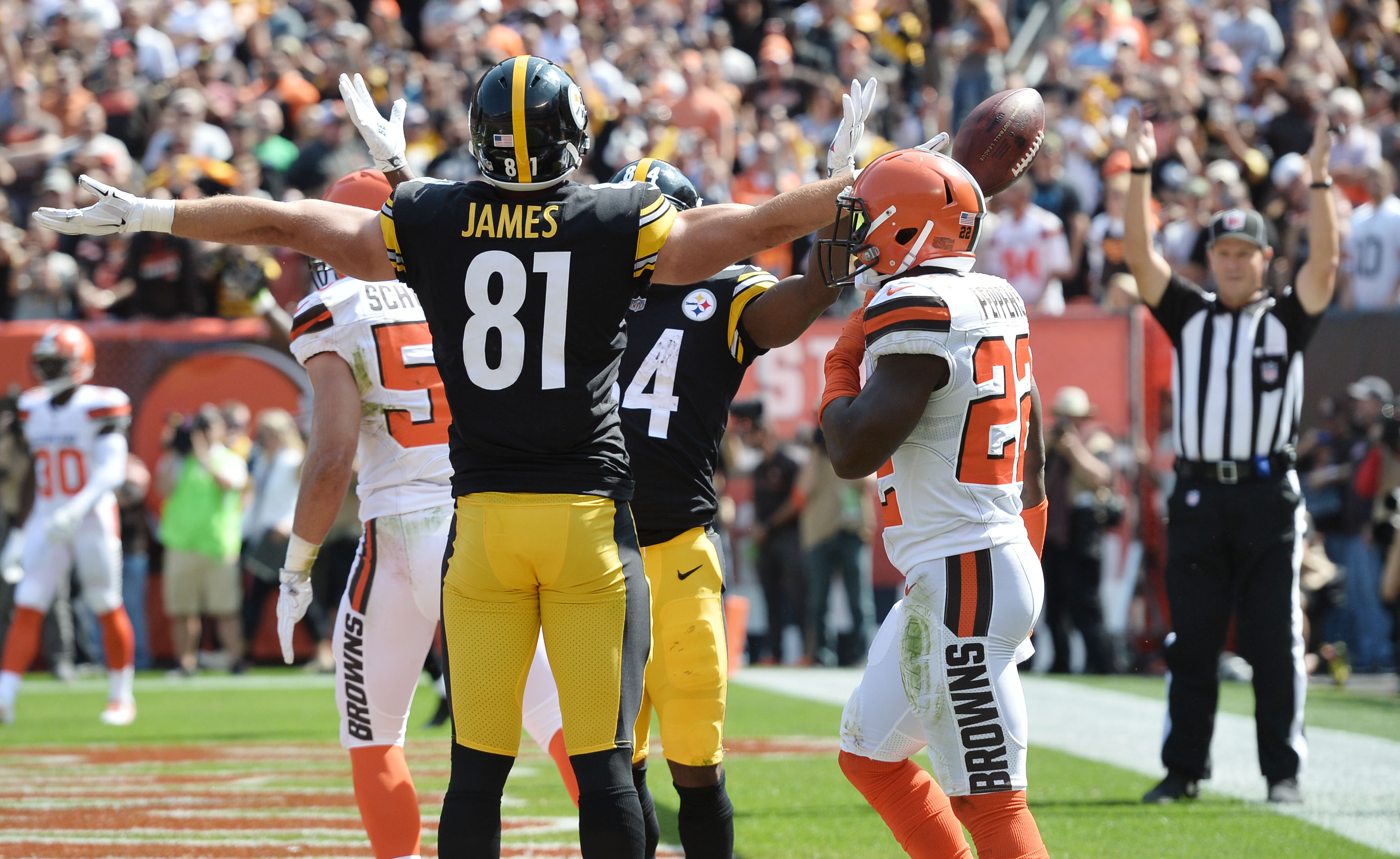 NFL: Pittsburgh Steelers at Cleveland Browns