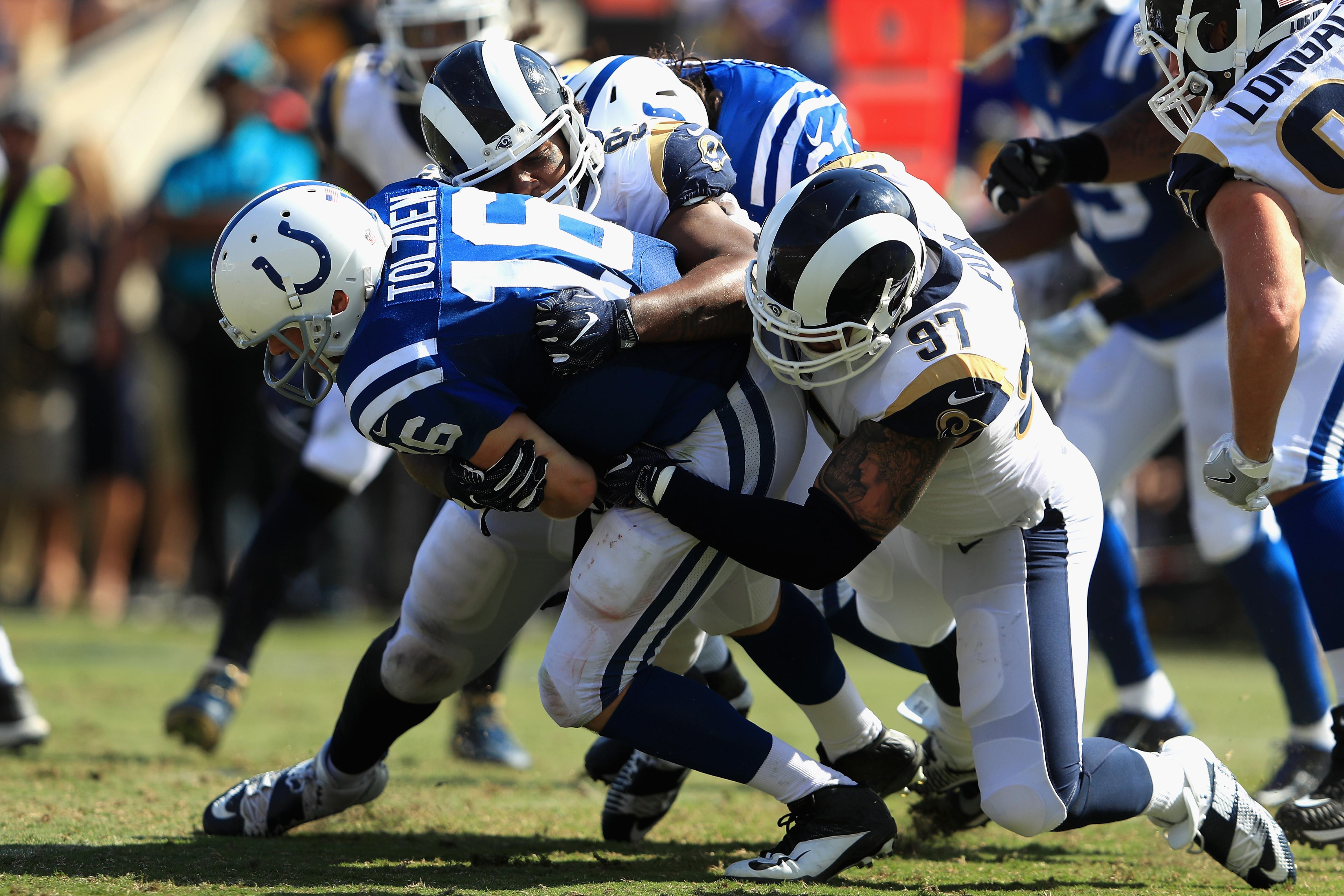 Indianapolis Colts DE Ethan Westbrooks